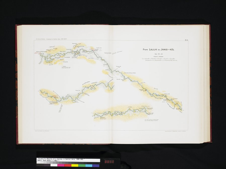 Scientific Results of a Journey in Central Asia, 1899-1902 : vol.7 / Page 50 (Color Image)
