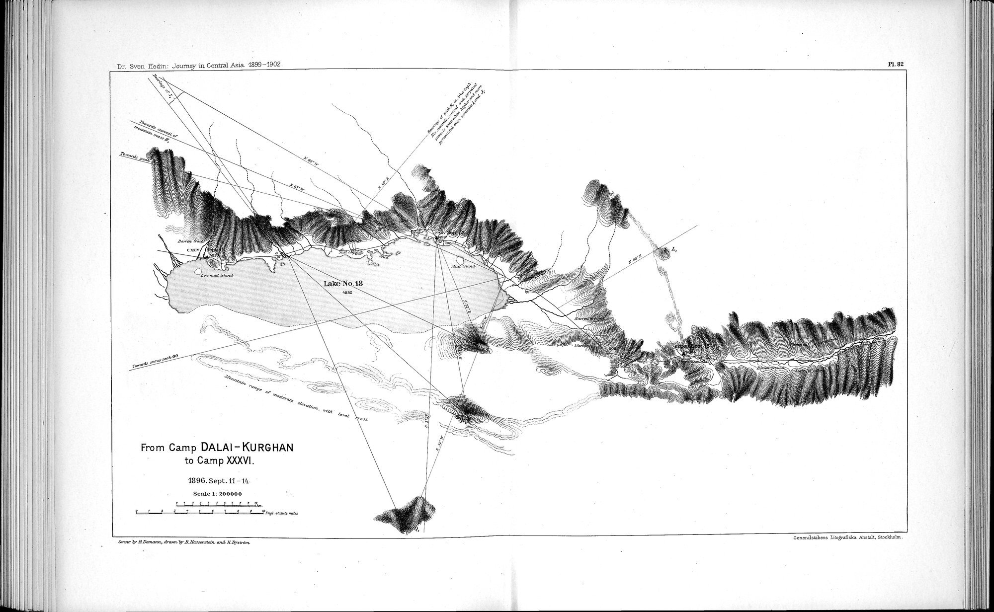 Scientific Results of a Journey in Central Asia, 1899-1902 : vol.8 / Page 148 (Grayscale High Resolution Image)