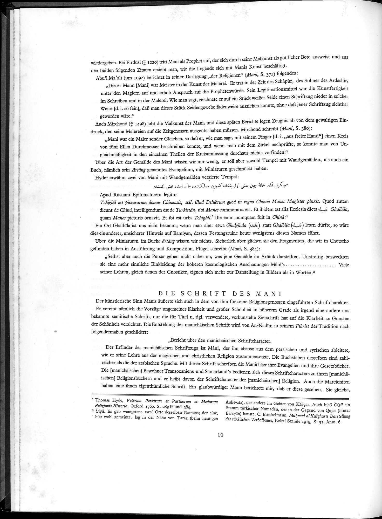 Die Buddhistische Spätantike in Mittelasien : vol.2 / Page 18 (Grayscale High Resolution Image)