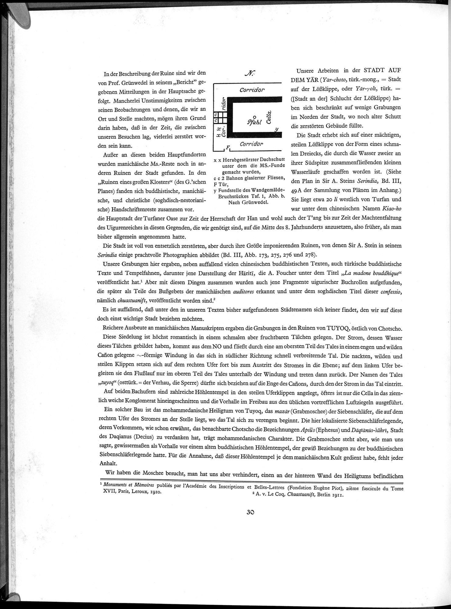 Die Buddhistische Spätantike in Mittelasien : vol.2 / Page 36 (Grayscale High Resolution Image)