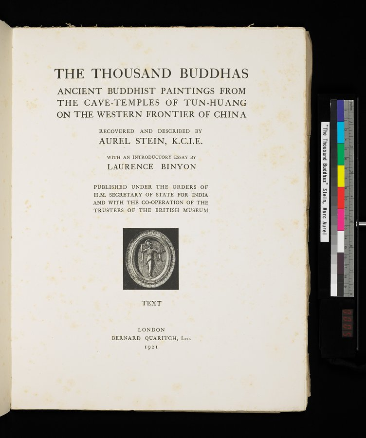 The Thousand Buddhas : vol.1 / 7 ページ(カラー画像)