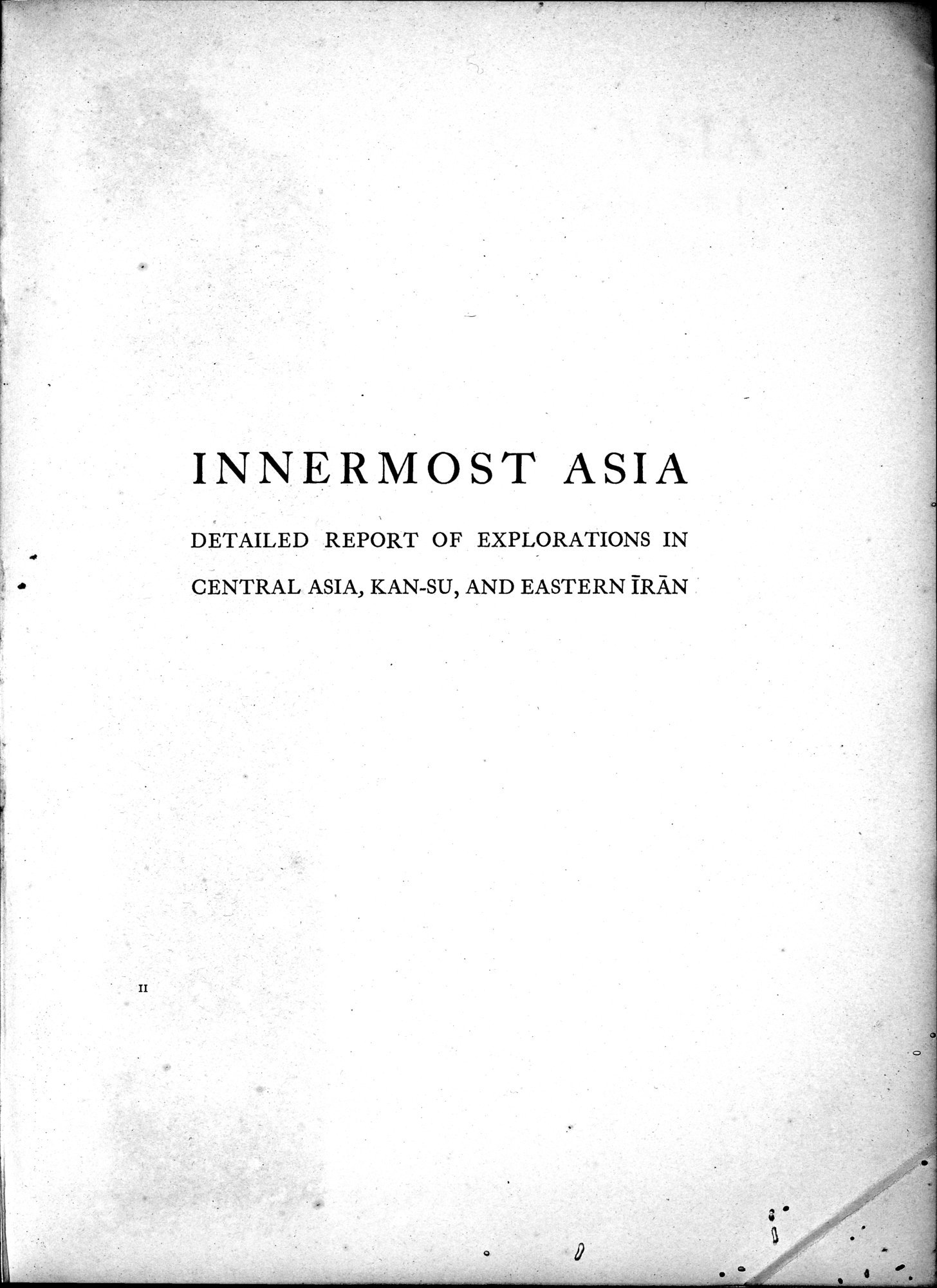 Innermost Asia : vol.2 / Page 5 (Grayscale High Resolution Image)