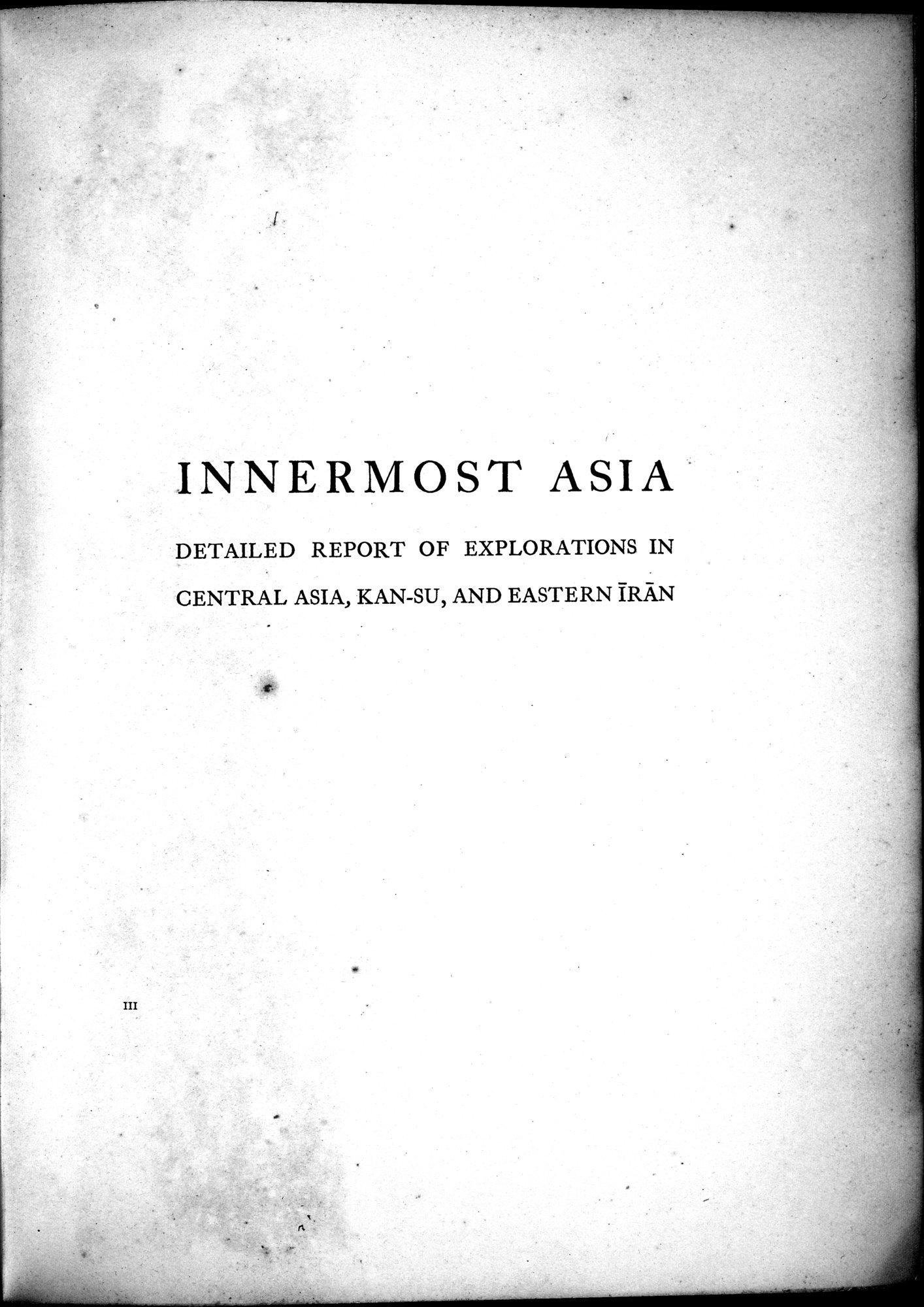 Innermost Asia : vol.3 / Page 5 (Grayscale High Resolution Image)