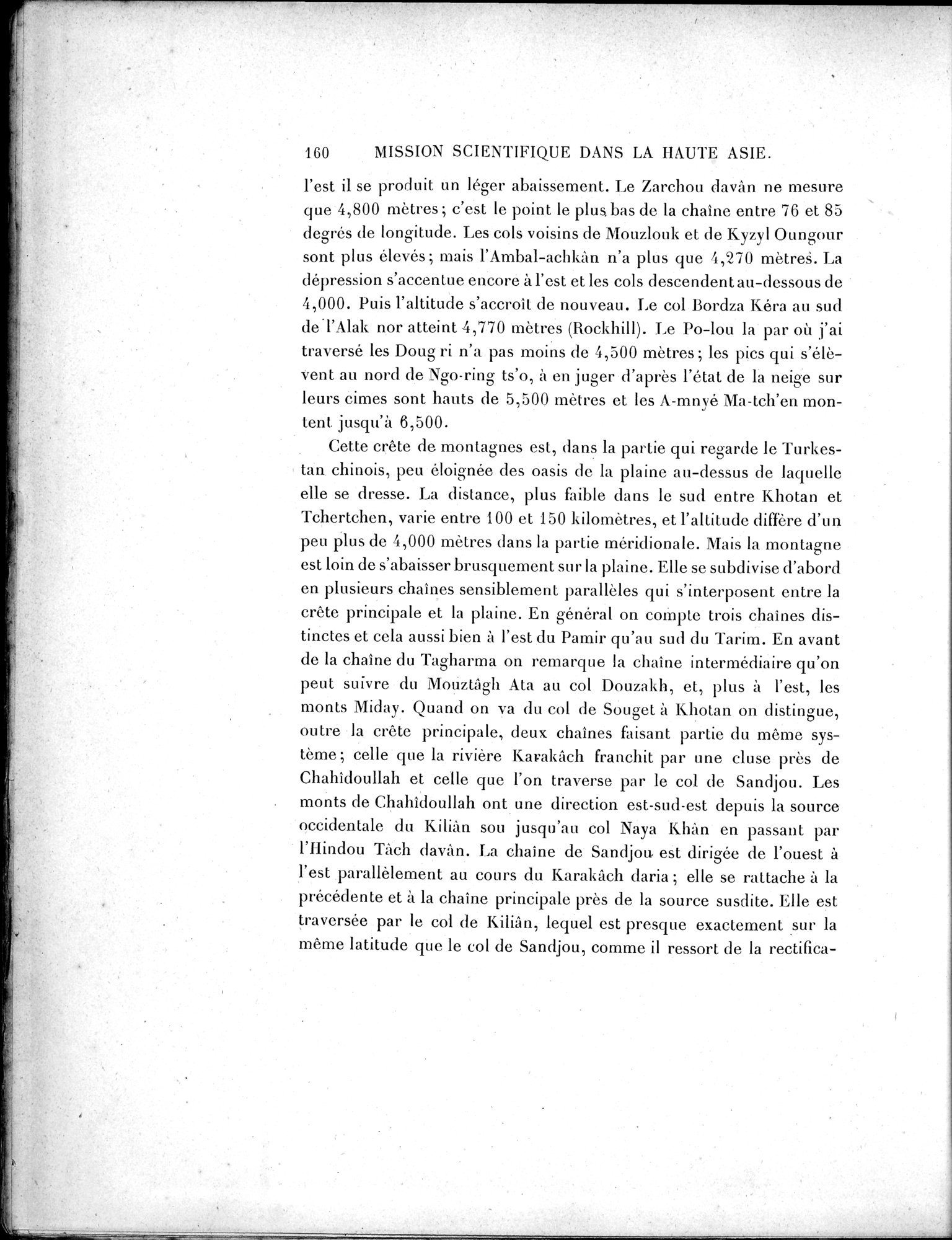 Mission Scientifique dans la Haute Asie 1890-1895 : vol.3 / Page 178 (Grayscale High Resolution Image)