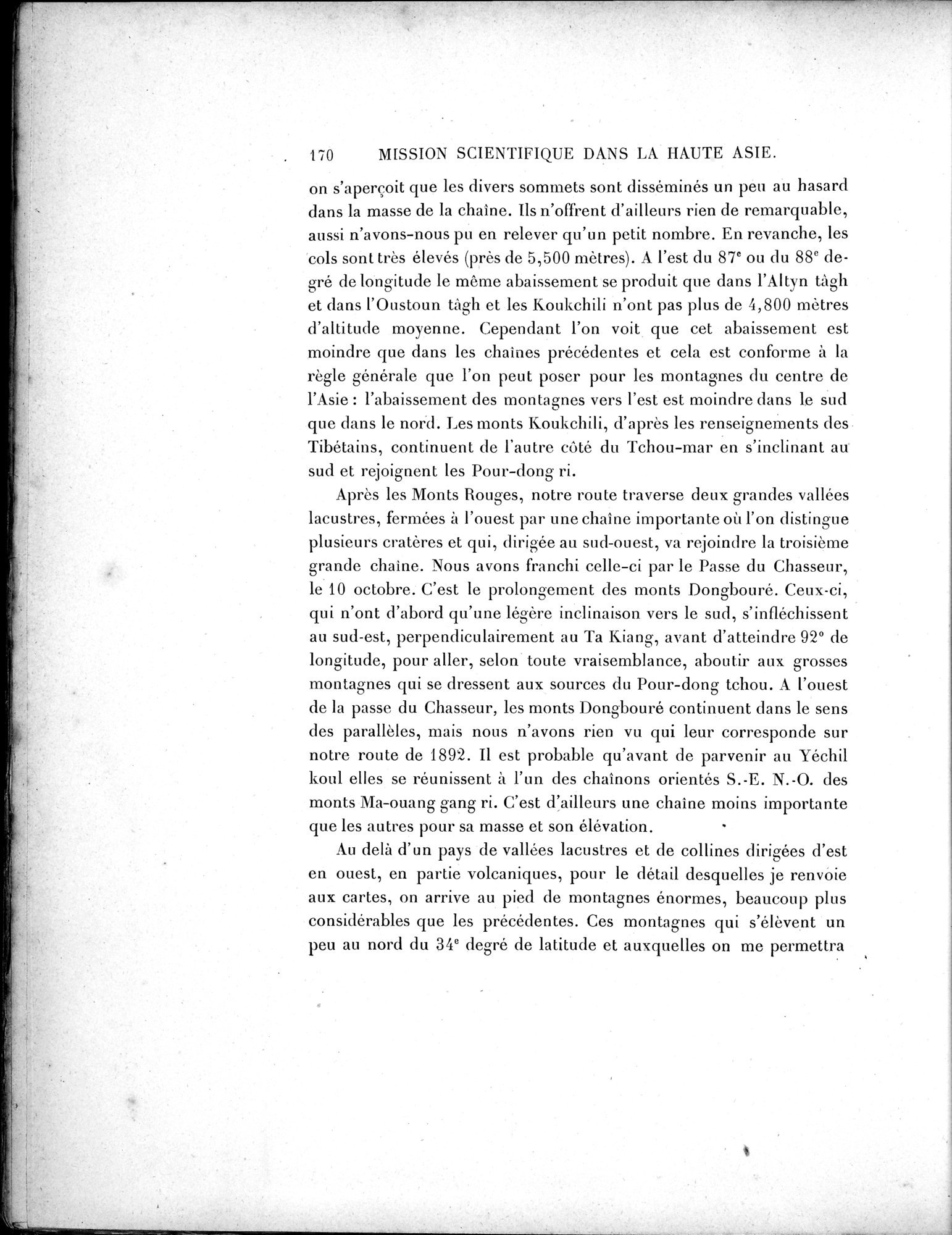 Mission Scientifique dans la Haute Asie 1890-1895 : vol.3 / Page 188 (Grayscale High Resolution Image)