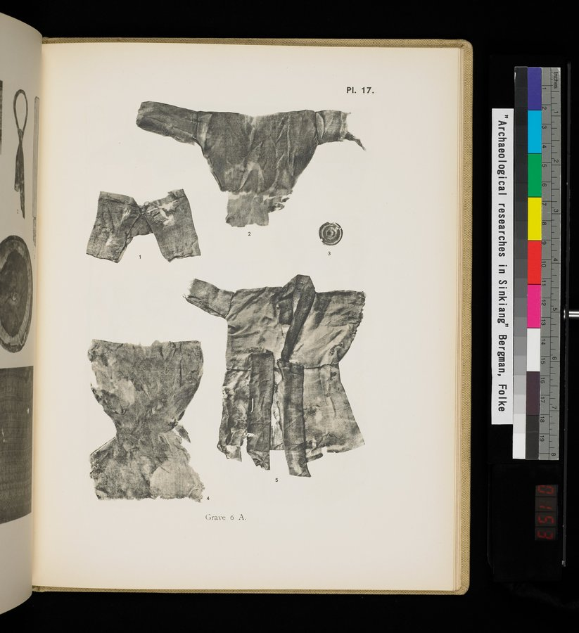 Archaeological Researches in Sinkiang : vol.1 / 305 ページ(カラー画像)