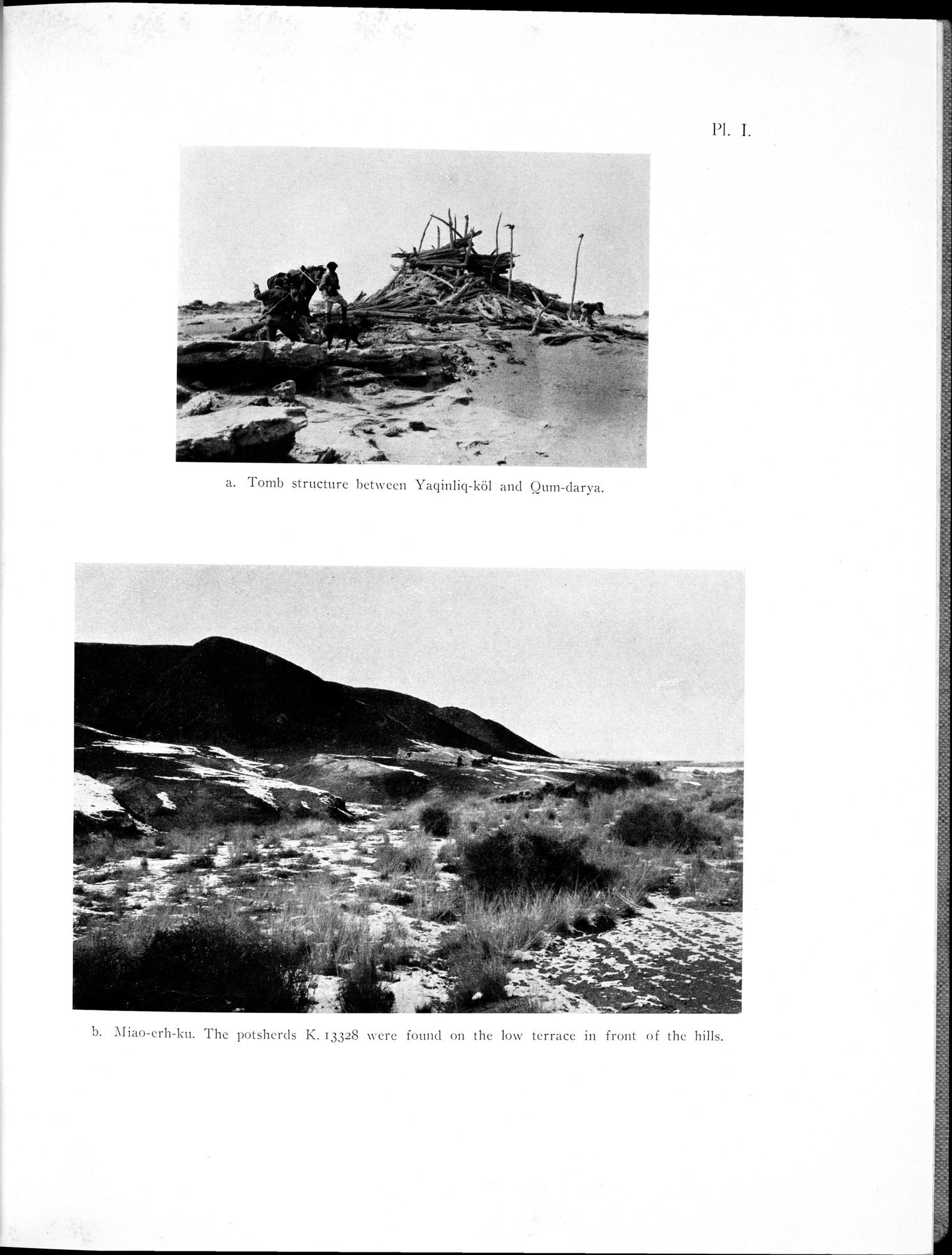Archaeological Researches in Sinkiang : vol.1 / Page 39 (Grayscale High Resolution Image)