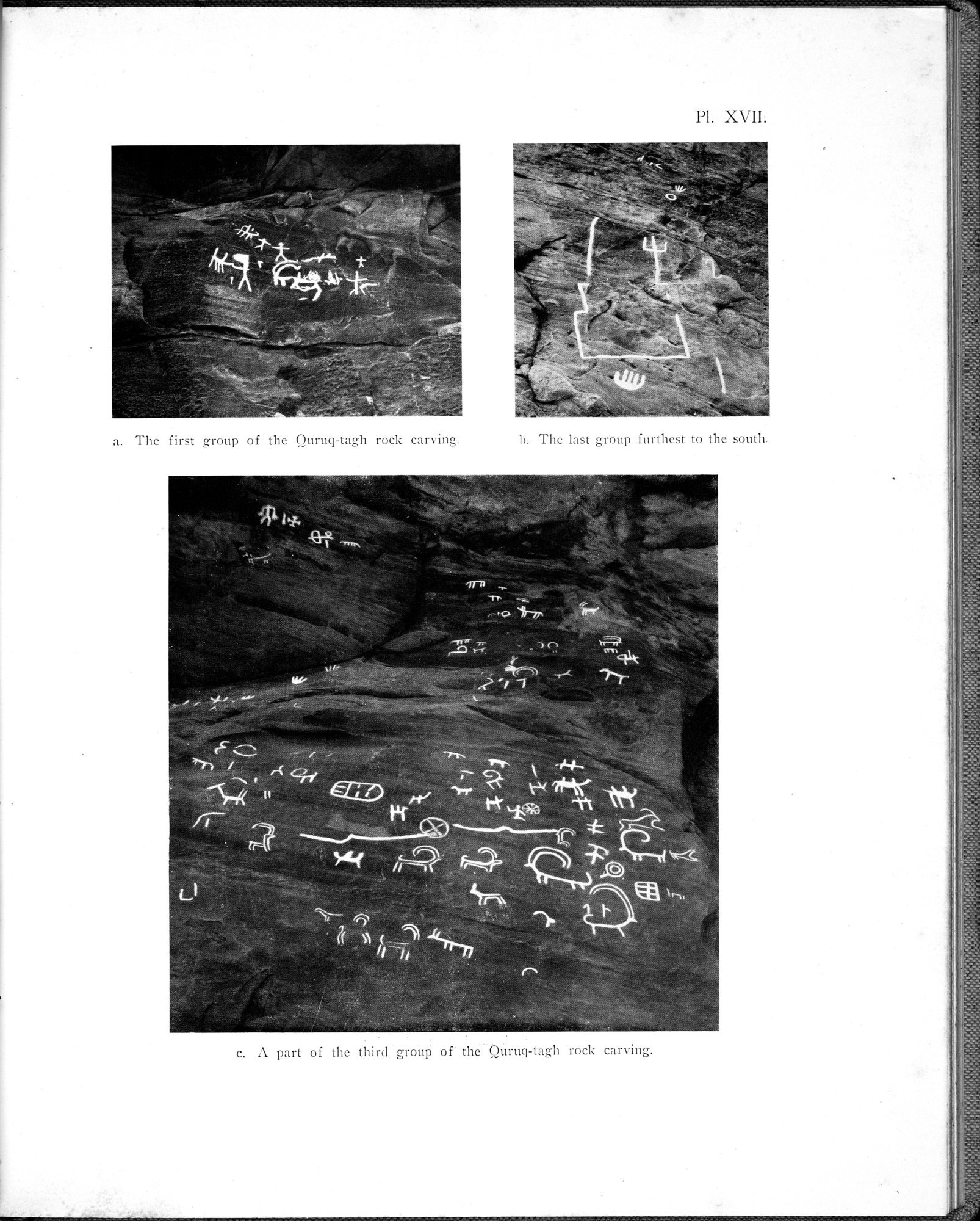 Archaeological Researches in Sinkiang : vol.1 / 231 ページ(白黒高解像度画像)