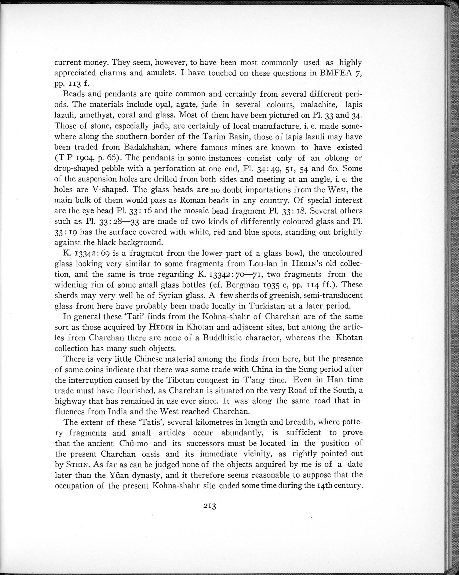 Archaeological Researches in Sinkiang : vol.1 / Page 237 (Grayscale High Resolution Image)