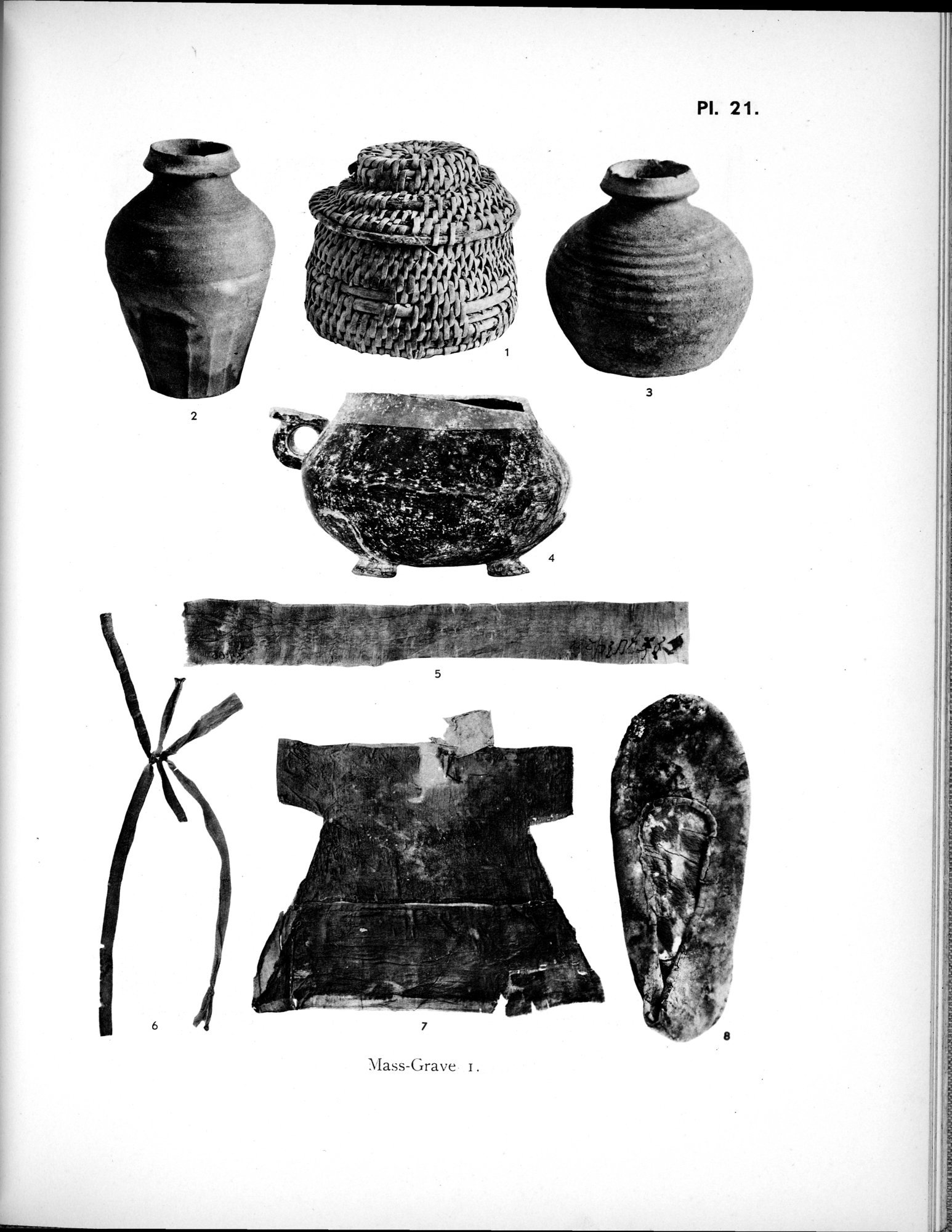 Archaeological Researches in Sinkiang : vol.1 / 309 ページ(白黒高解像度画像)