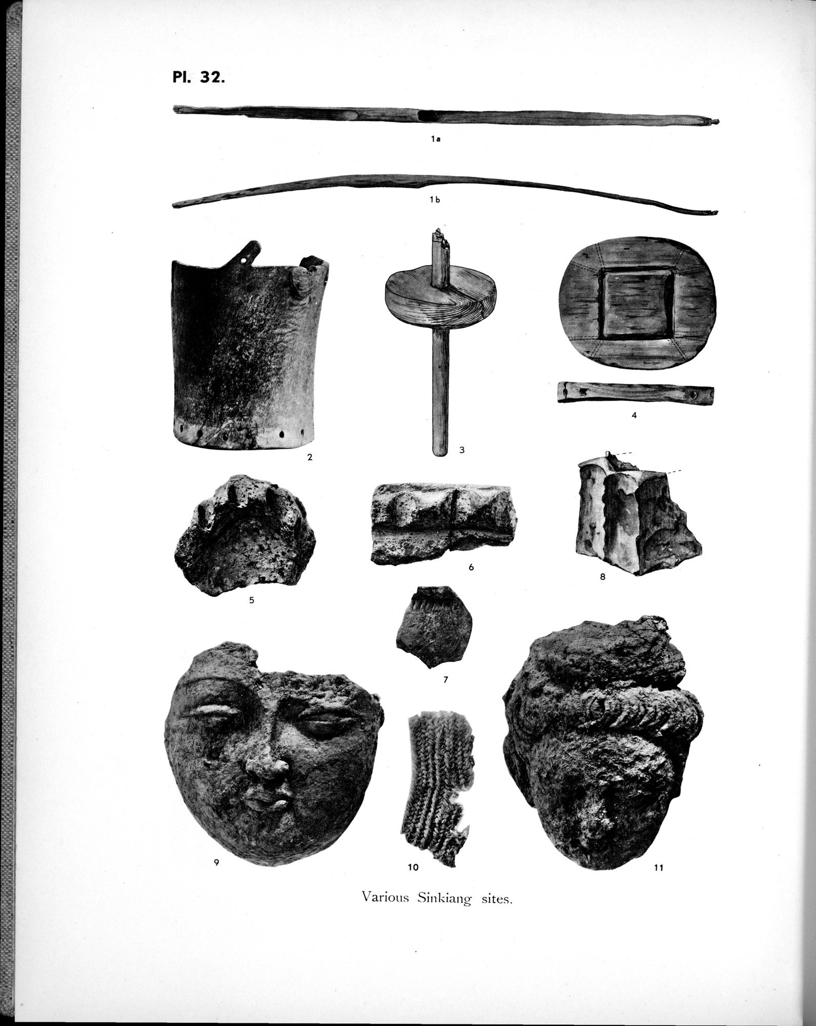 Archaeological Researches in Sinkiang : vol.1 / Page 320 (Grayscale High Resolution Image)