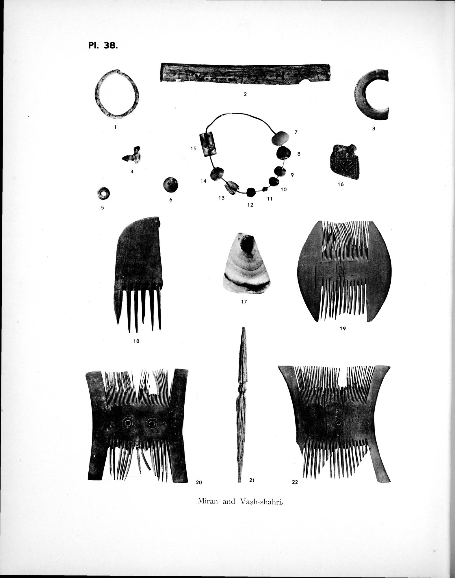 Archaeological Researches in Sinkiang : vol.1 / Page 326 (Grayscale High Resolution Image)
