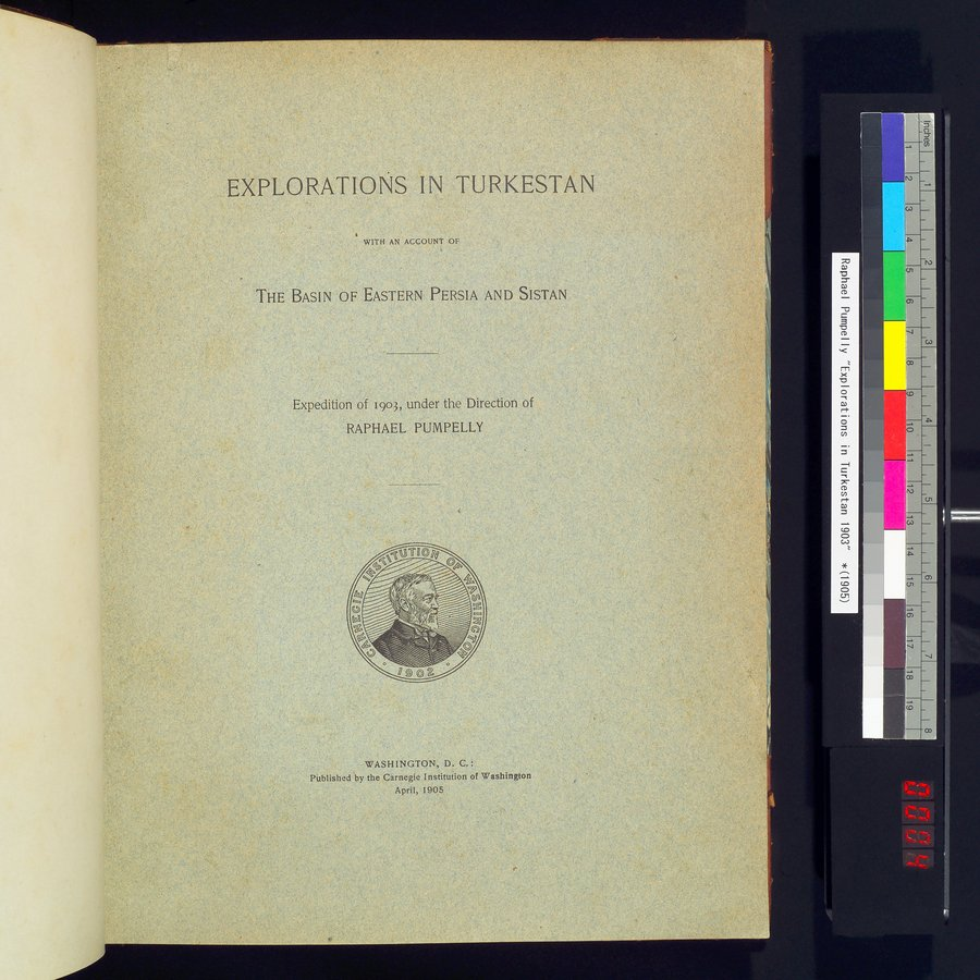 Explorations in Turkestan 1903 : vol.1 / Page 7 (Color Image)