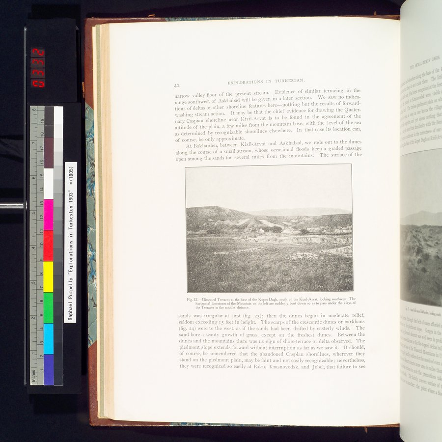 Explorations in Turkestan 1903 : vol.1 / Page 66 (Color Image)