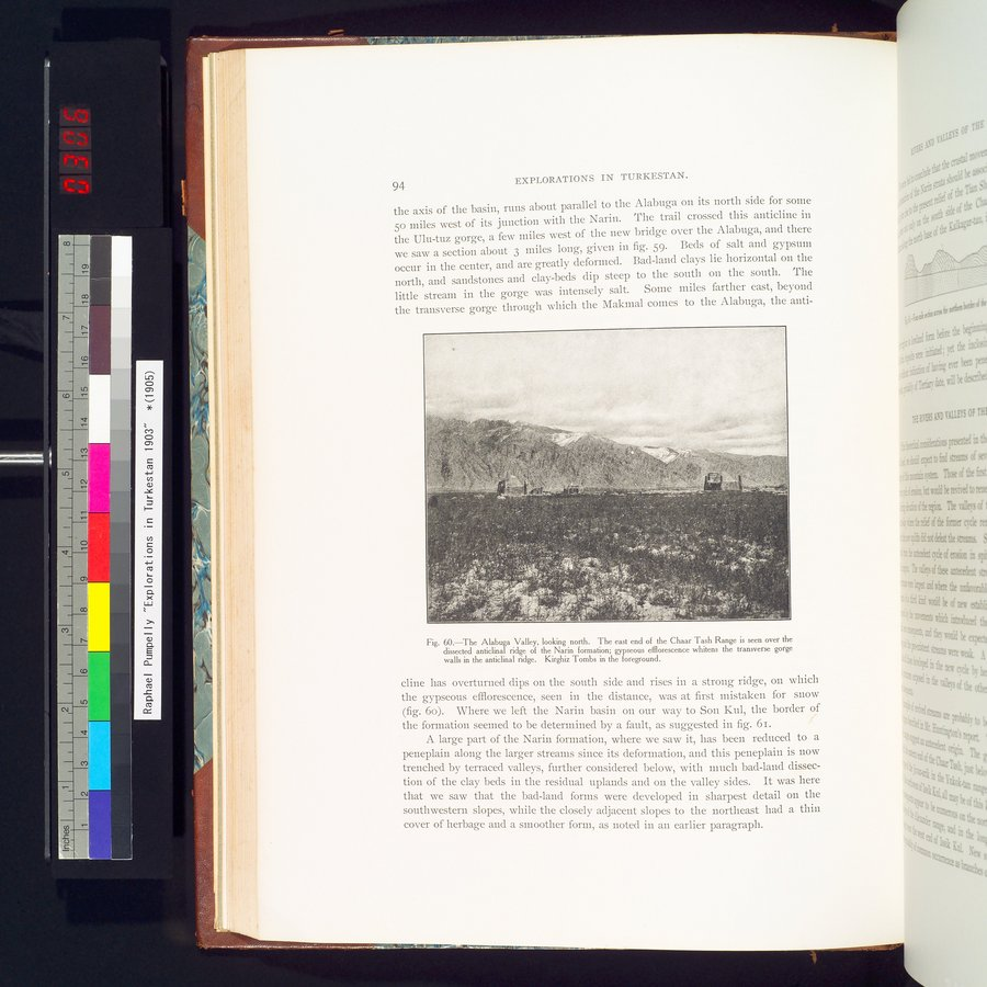 Explorations in Turkestan 1903 : vol.1 / Page 118 (Color Image)