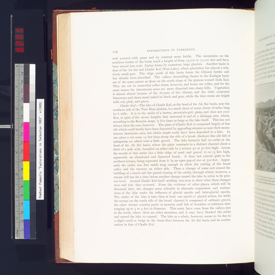 Explorations in Turkestan 1903 : vol.1 / Page 204 (Color Image)