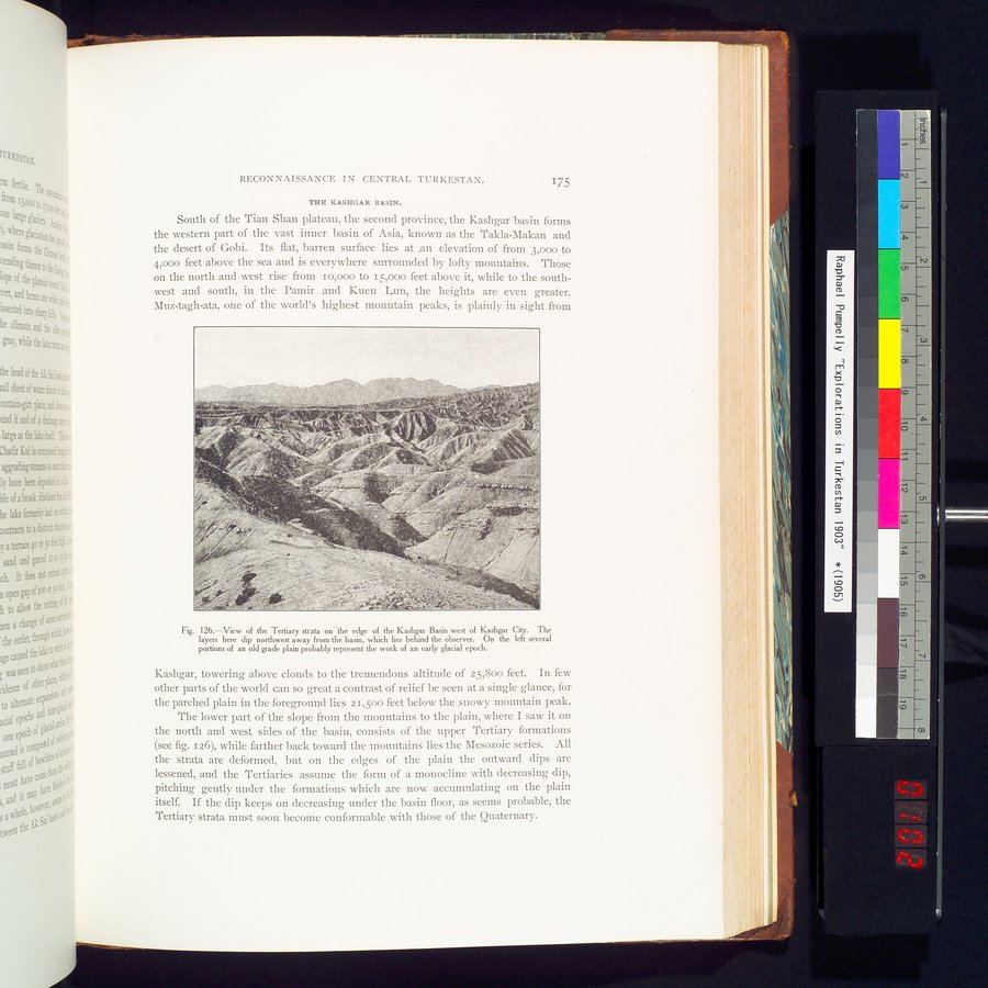 Explorations in Turkestan 1903 : vol.1 / Page 205 (Color Image)