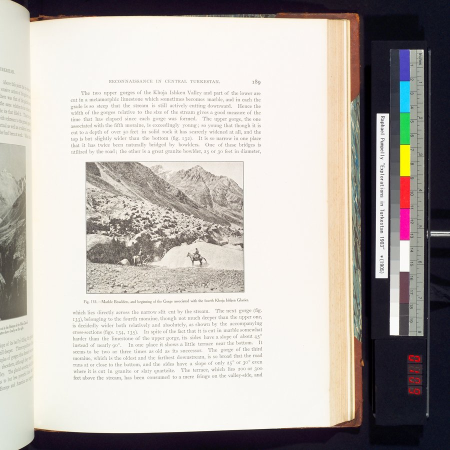 Explorations in Turkestan 1903 : vol.1 / Page 219 (Color Image)