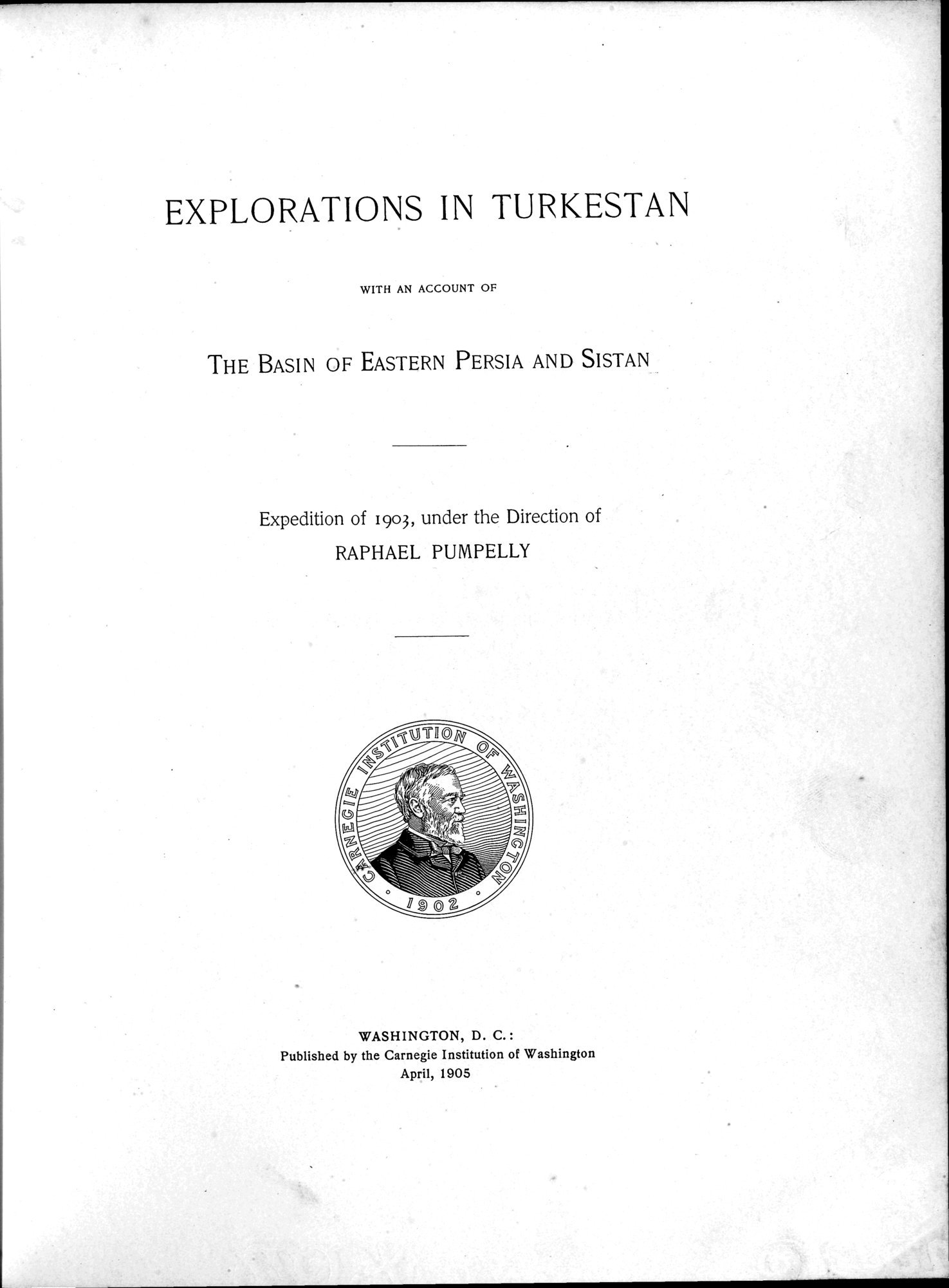 Explorations in Turkestan 1903 : vol.1 / Page 11 (Grayscale High Resolution Image)
