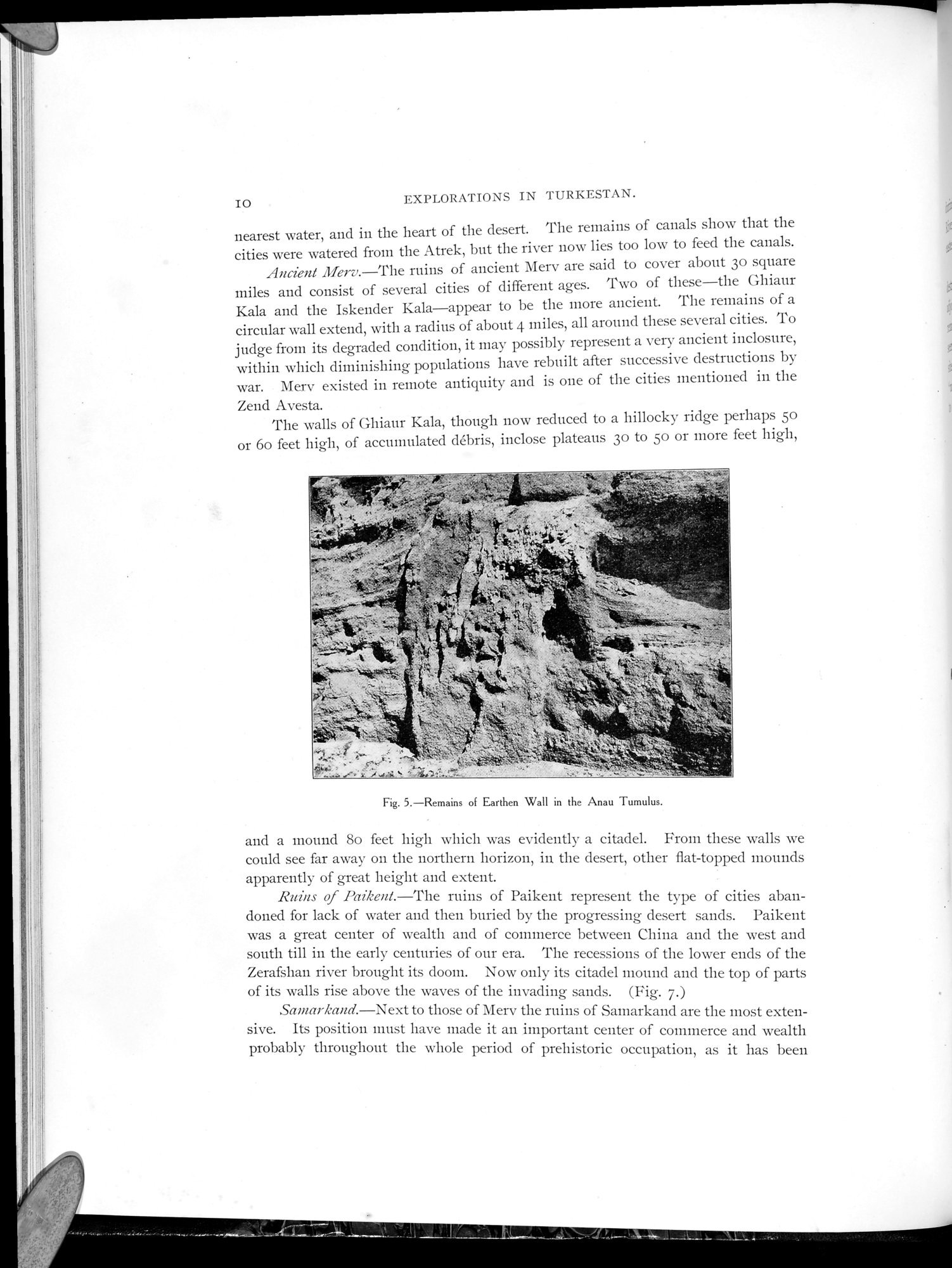 Explorations in Turkestan 1903 : vol.1 / Page 34 (Grayscale High Resolution Image)