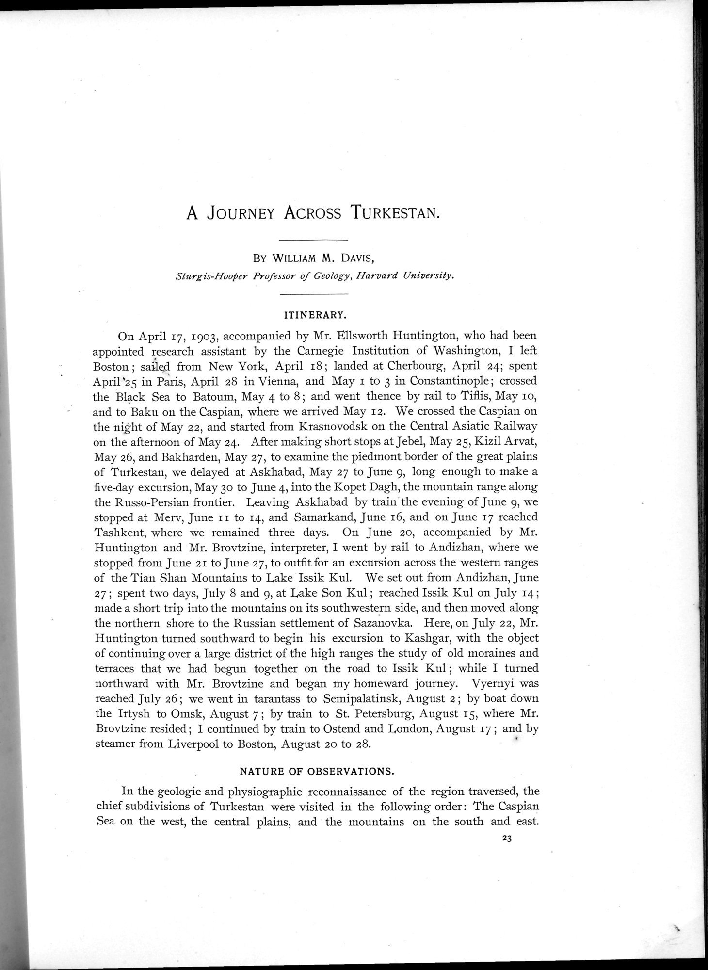 Explorations in Turkestan 1903 : vol.1 / Page 47 (Grayscale High Resolution Image)