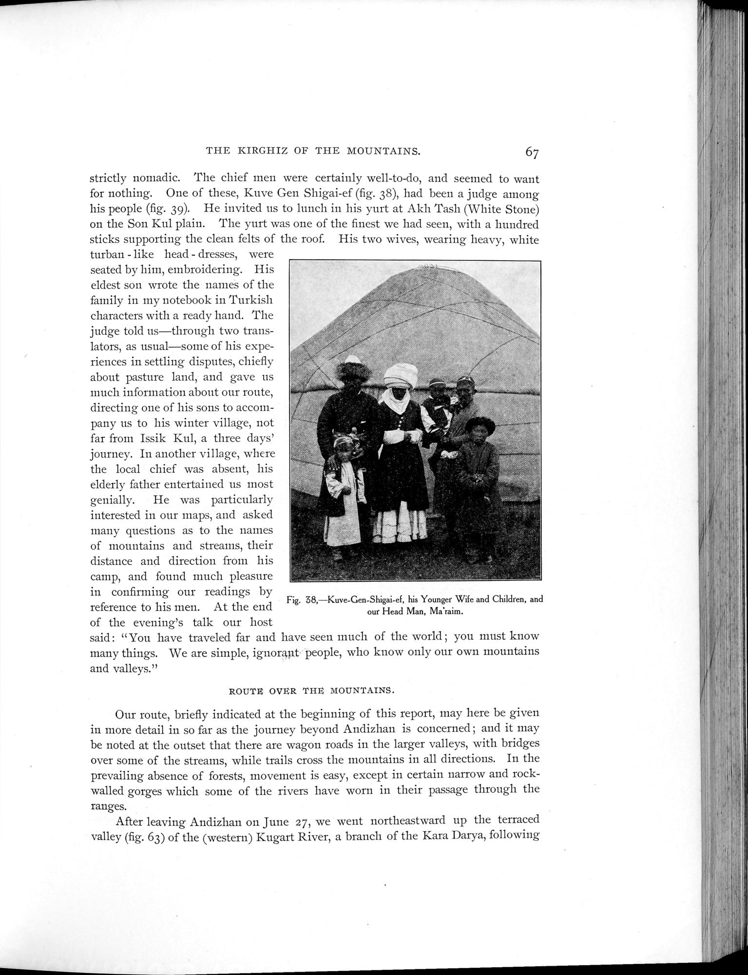 Explorations in Turkestan 1903 : vol.1 / Page 91 (Grayscale High Resolution Image)