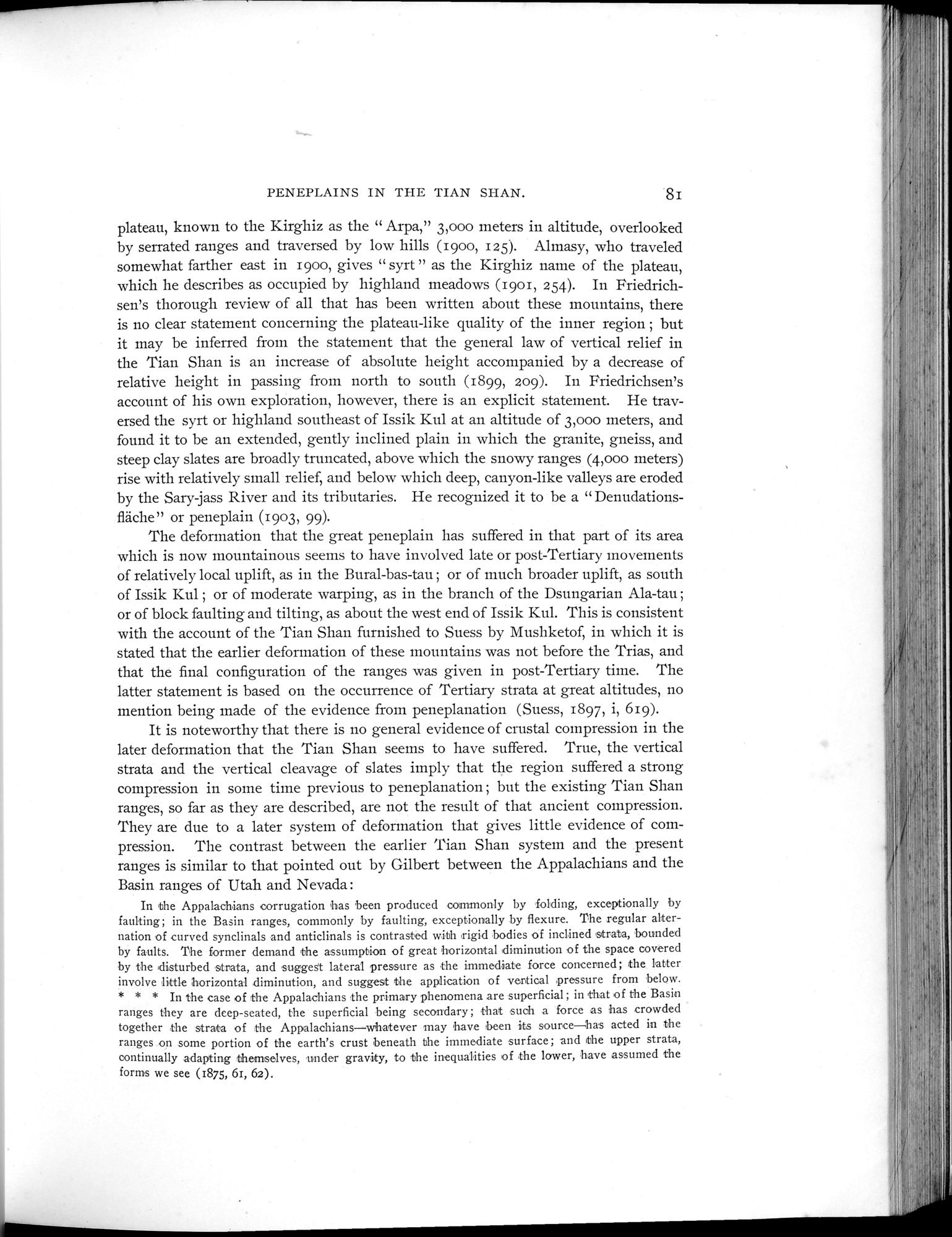 Explorations in Turkestan 1903 : vol.1 / Page 105 (Grayscale High Resolution Image)