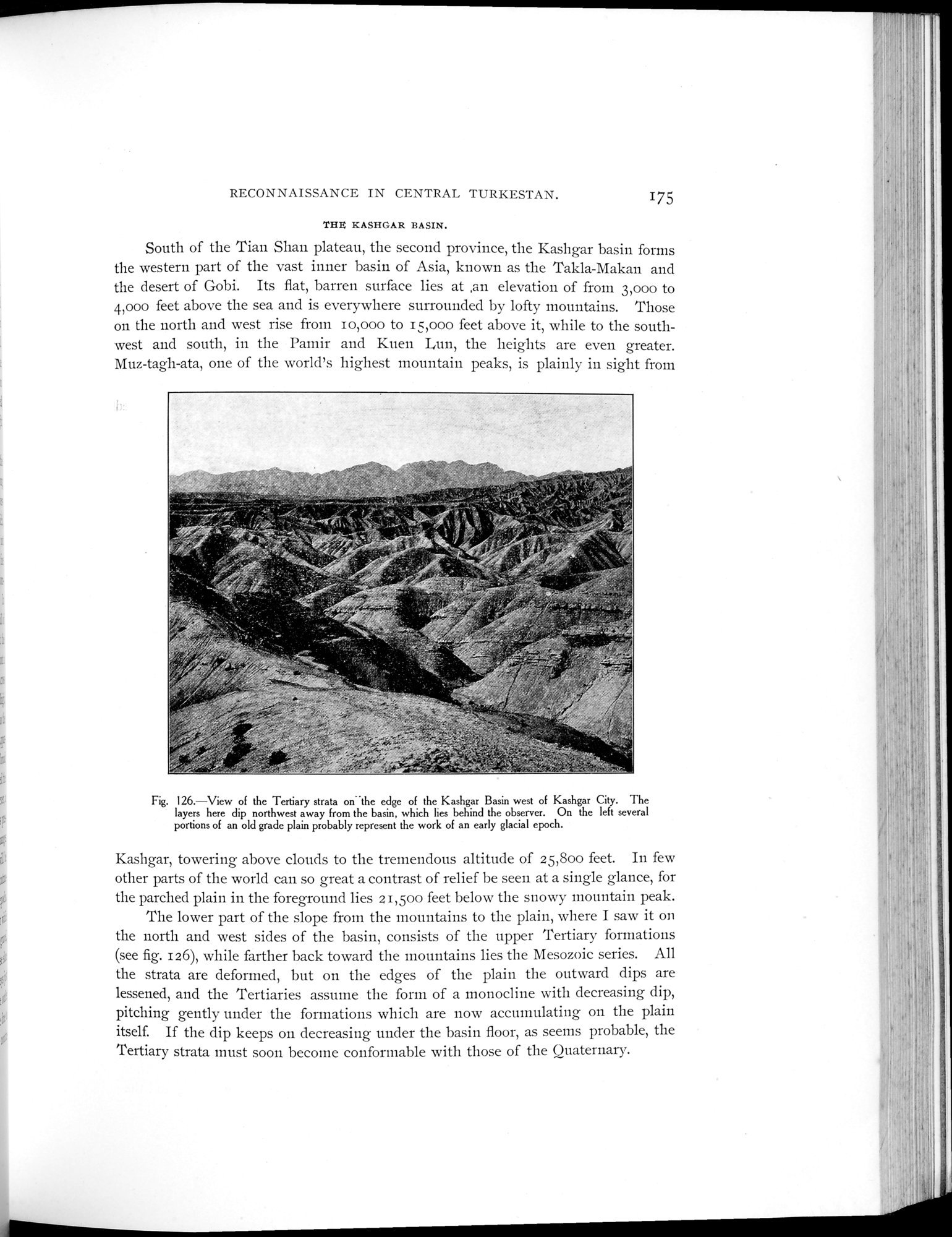 Explorations in Turkestan 1903 : vol.1 / Page 205 (Grayscale High Resolution Image)