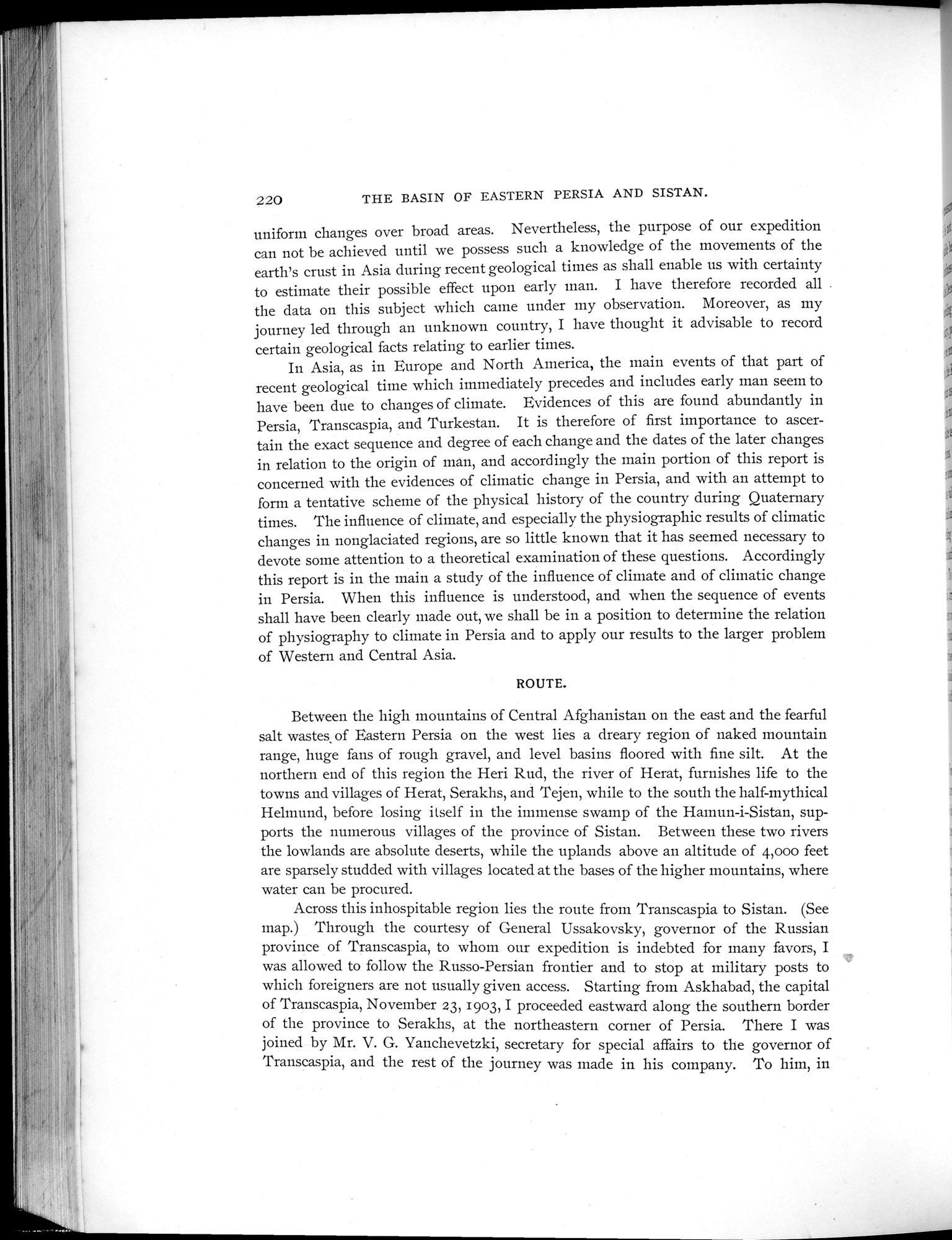 Explorations in Turkestan 1903 : vol.1 / Page 252 (Grayscale High Resolution Image)