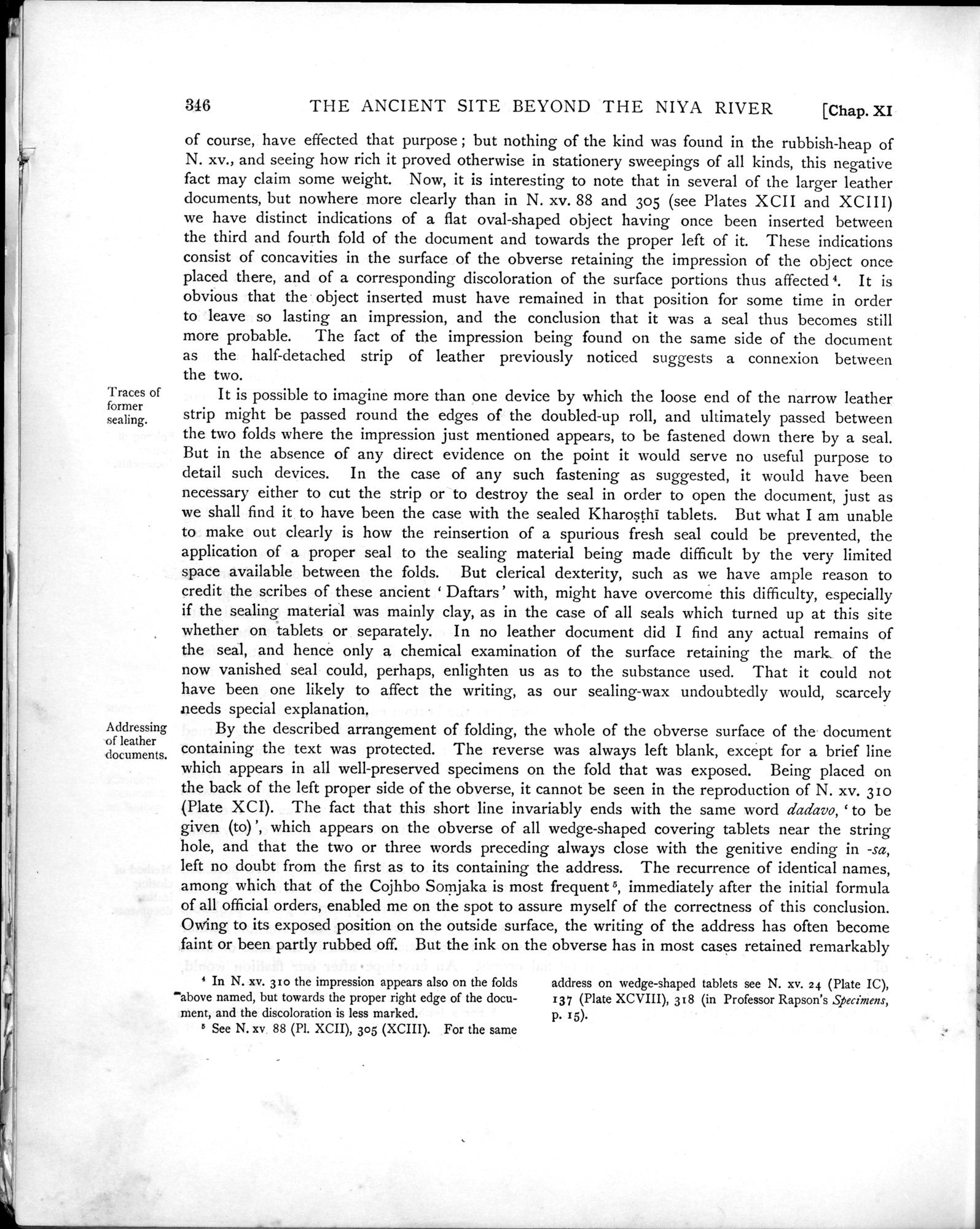 Ancient Khotan : vol.1 / Page 418 (Grayscale High Resolution Image)