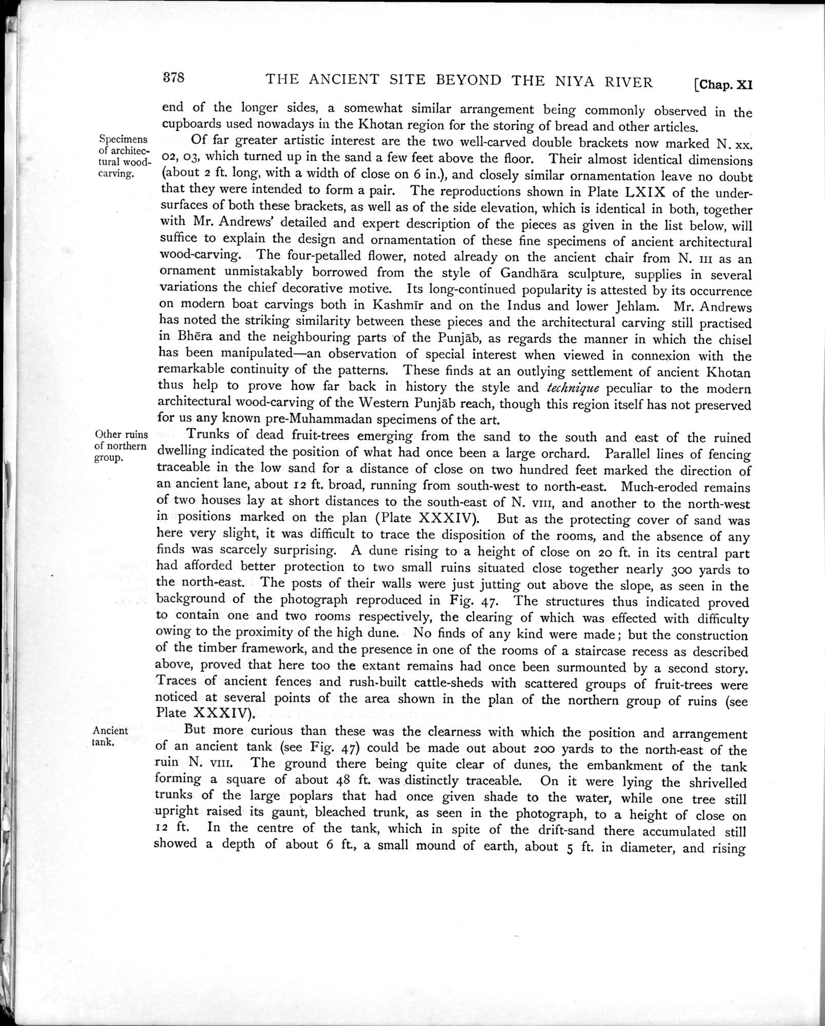 Ancient Khotan : vol.1 / Page 450 (Grayscale High Resolution Image)