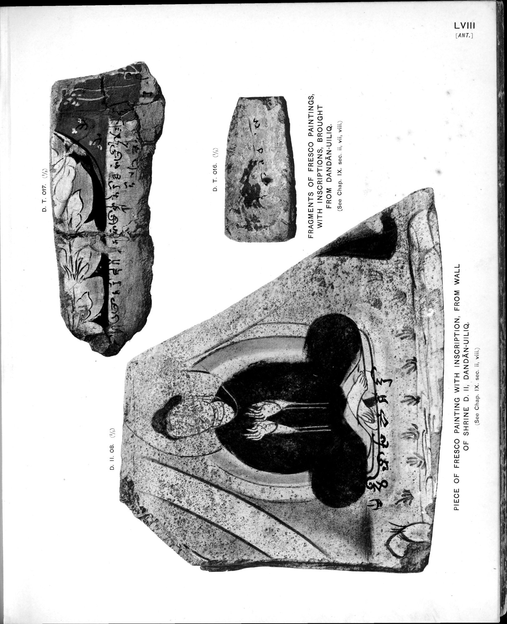 Ancient Khotan : vol.2 / Page 127 (Grayscale High Resolution Image)