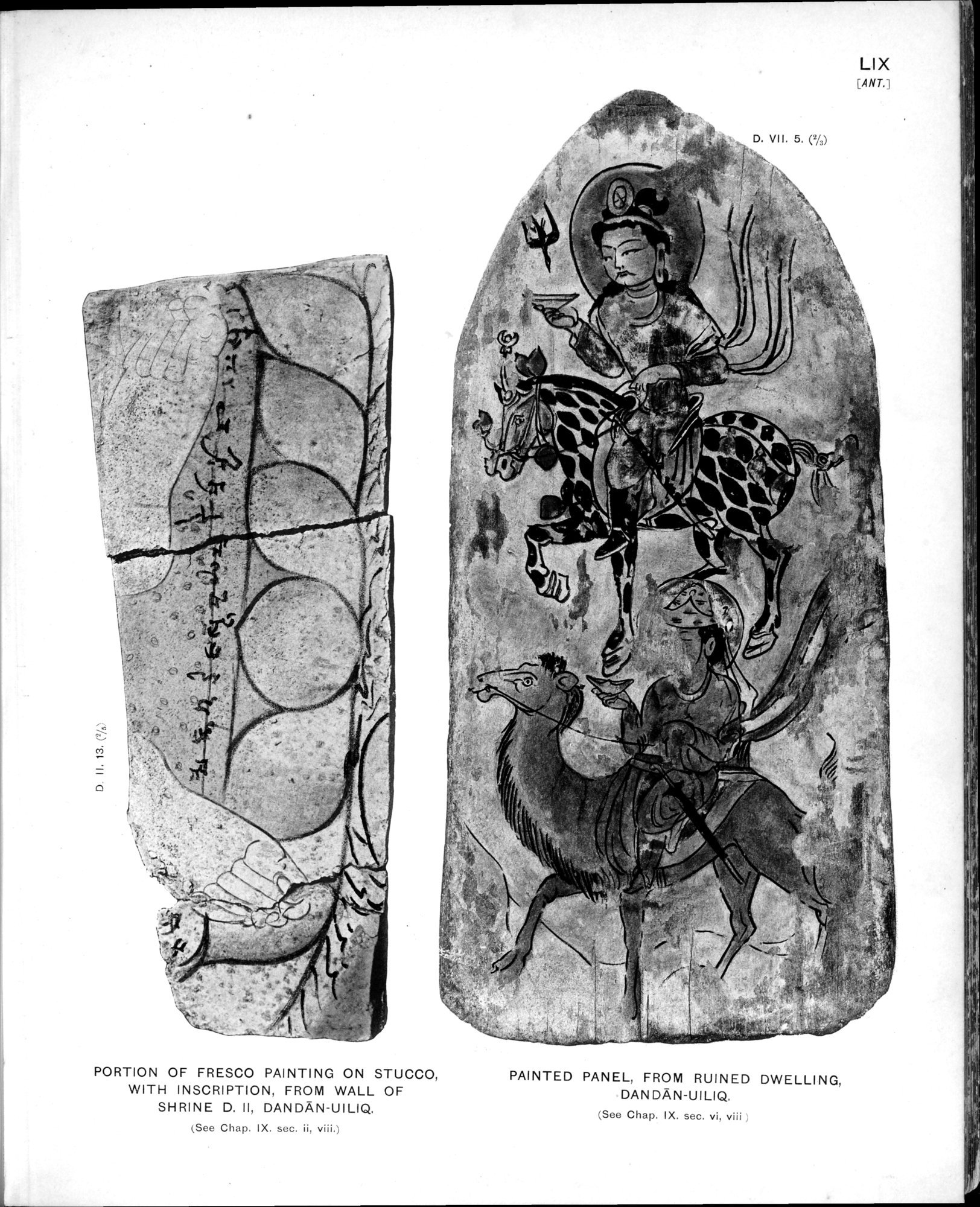 Ancient Khotan : vol.2 / Page 129 (Grayscale High Resolution Image)