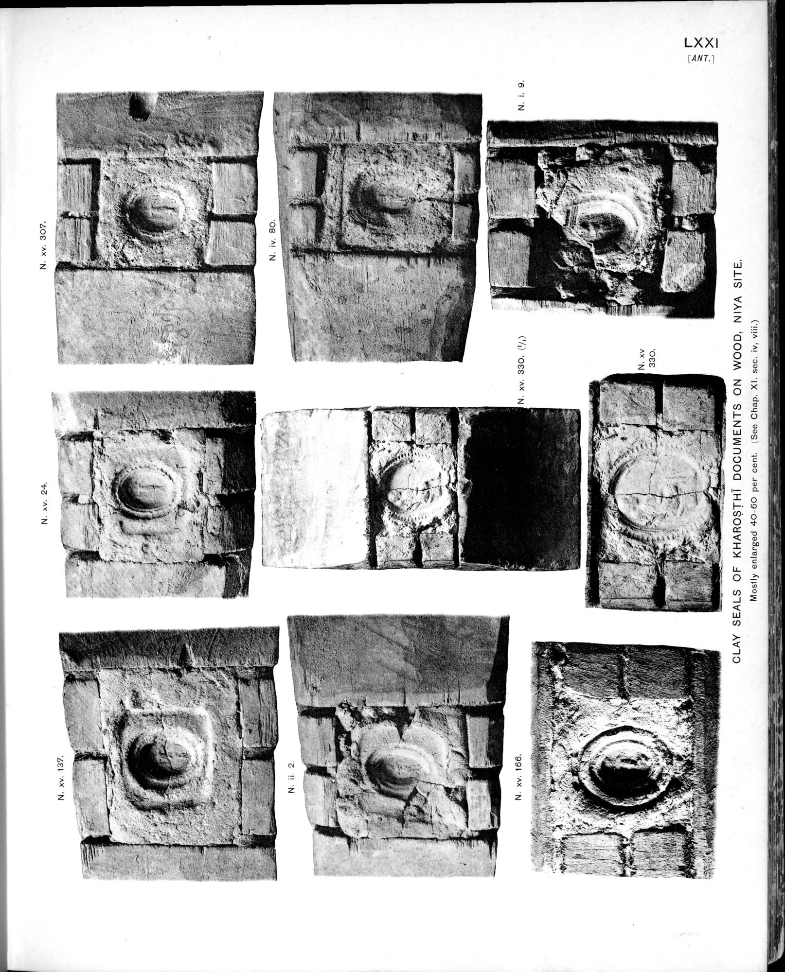 Ancient Khotan : vol.2 / Page 153 (Grayscale High Resolution Image)