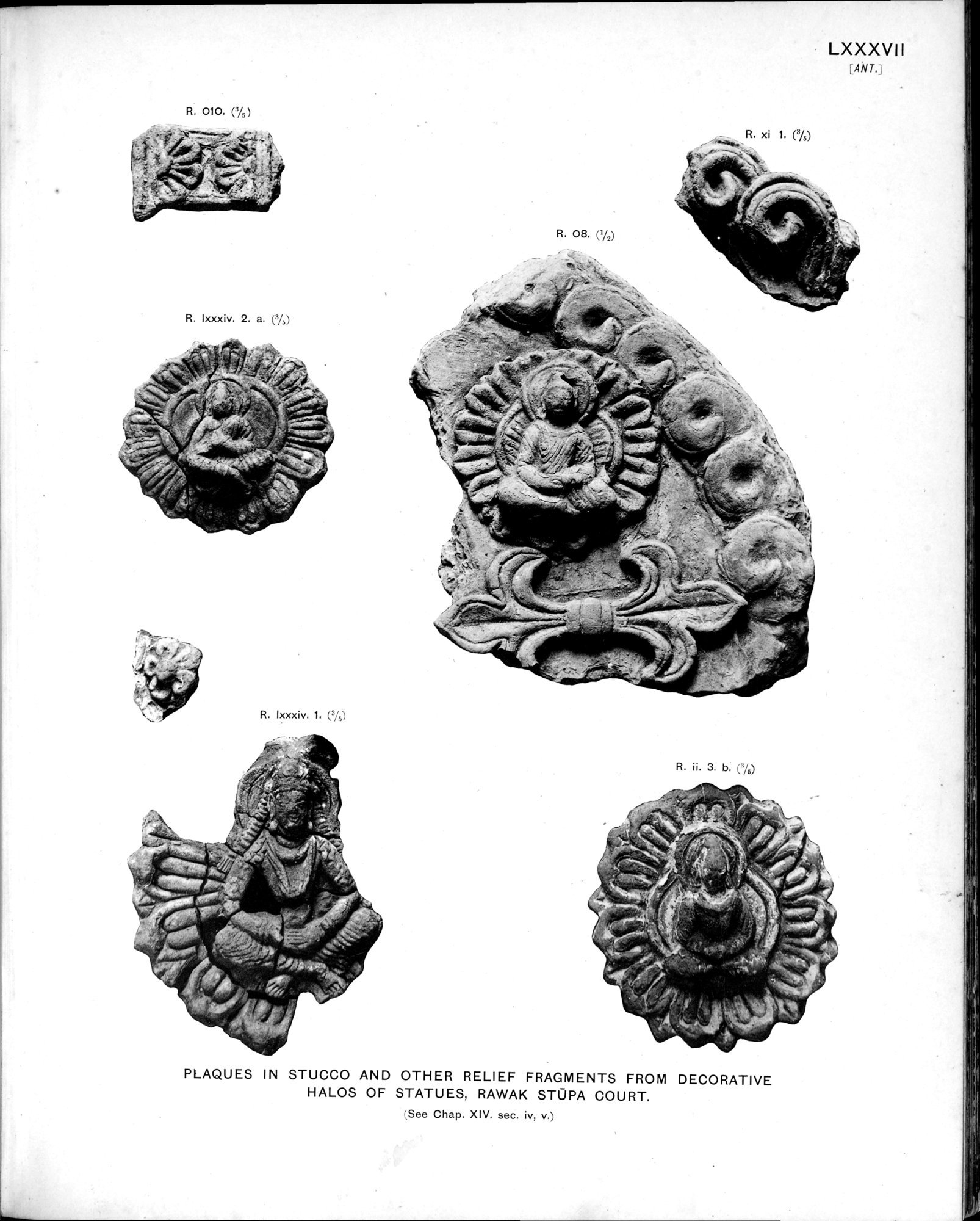 Ancient Khotan : vol.2 / Page 185 (Grayscale High Resolution Image)