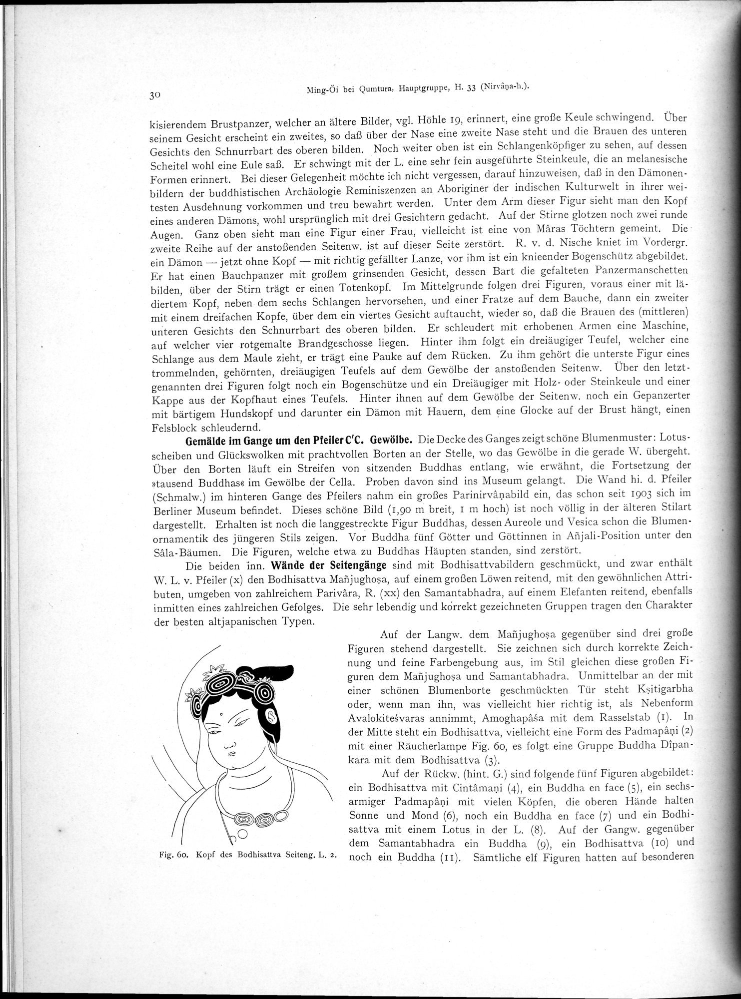 Altbuddhistische Kultstätten in Chinesisch-Turkistan : vol.1 / Page 36 (Grayscale High Resolution Image)