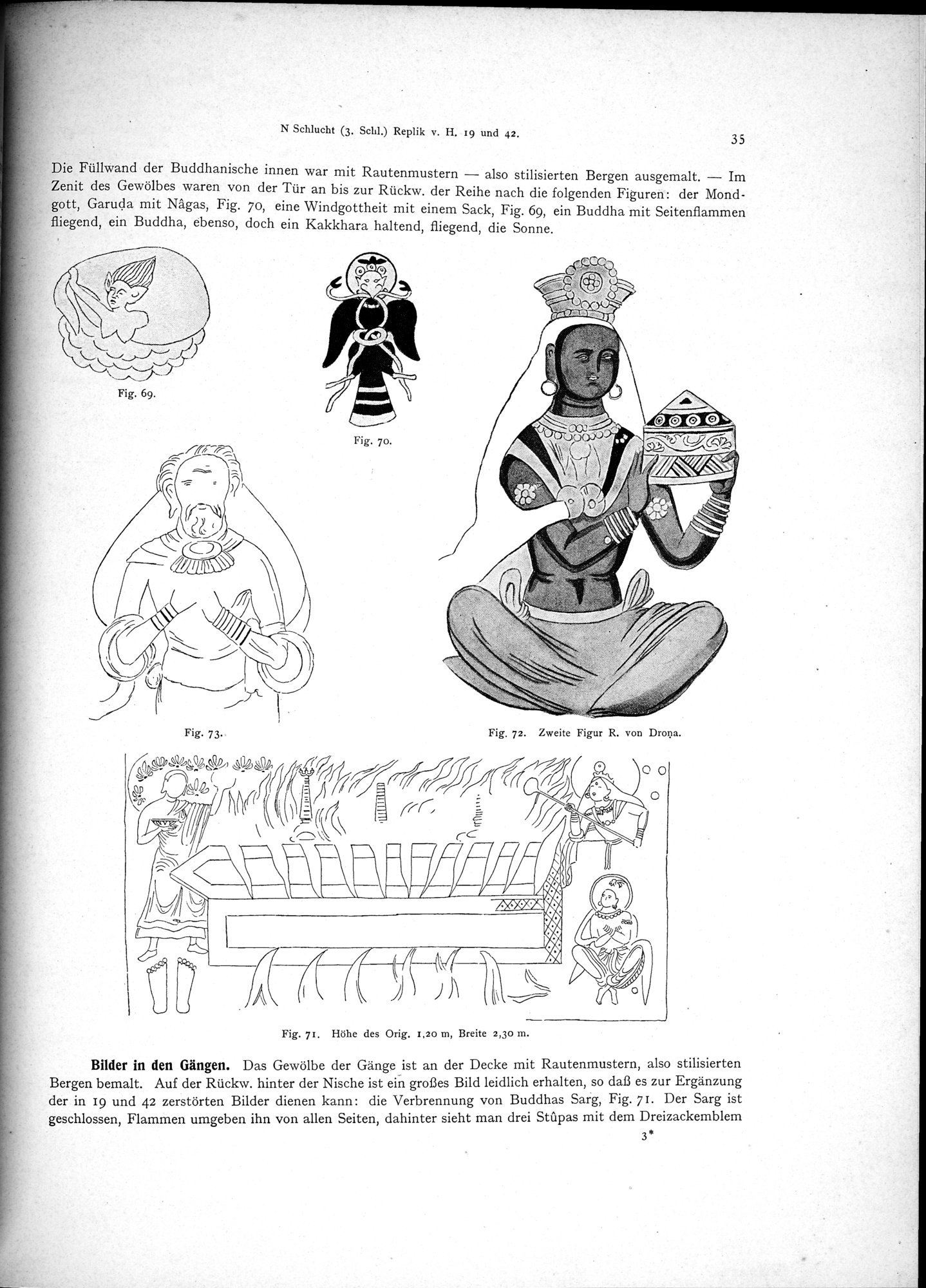 Altbuddhistische Kultstätten in Chinesisch-Turkistan : vol.1 / Page 41 (Grayscale High Resolution Image)