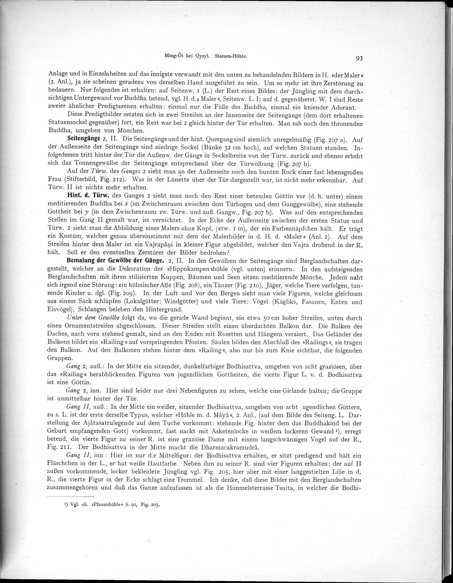 Altbuddhistische Kultstätten in Chinesisch-Turkistan : vol.1 / Page 99 (Grayscale High Resolution Image)