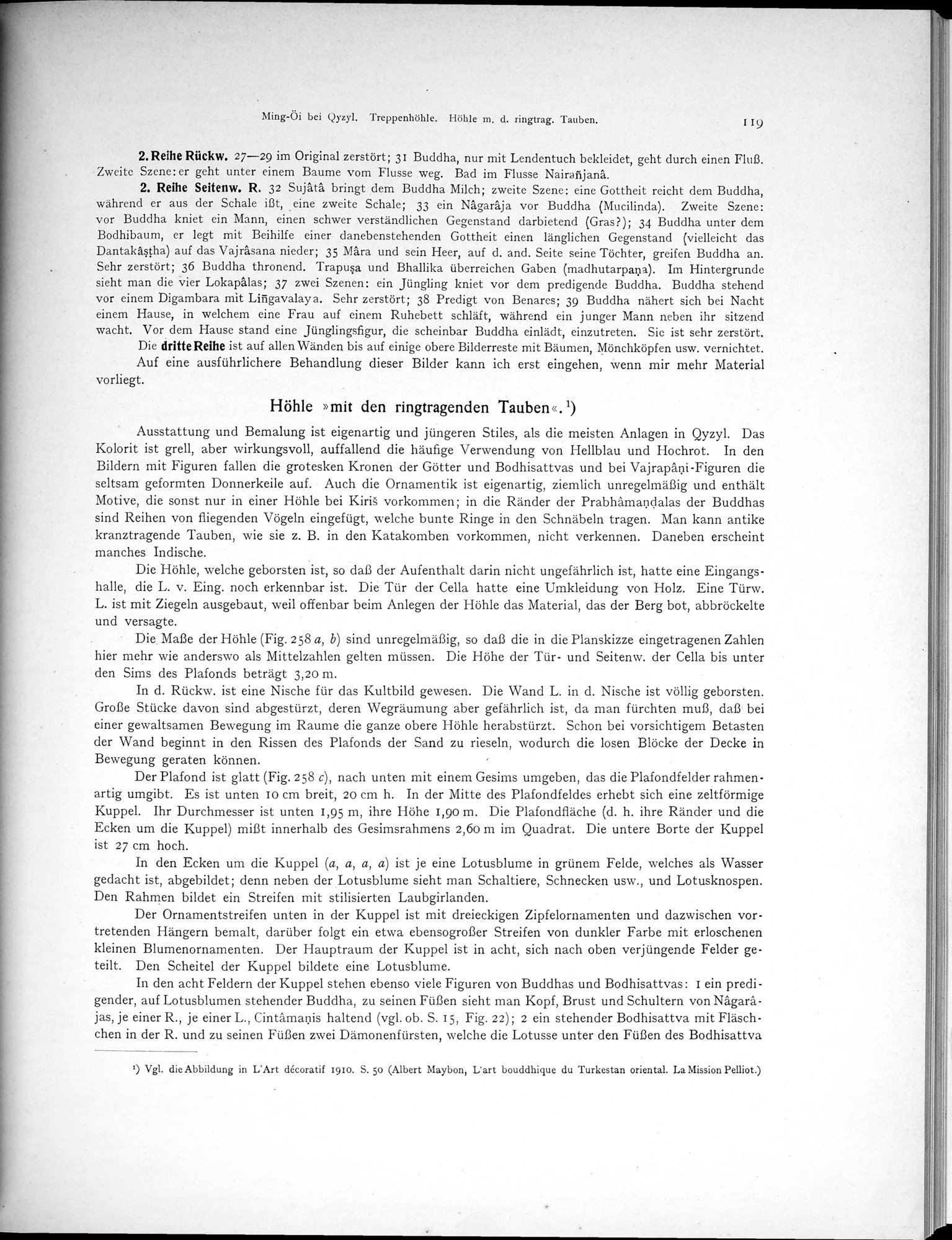 Altbuddhistische Kultstätten in Chinesisch-Turkistan : vol.1 / Page 125 (Grayscale High Resolution Image)