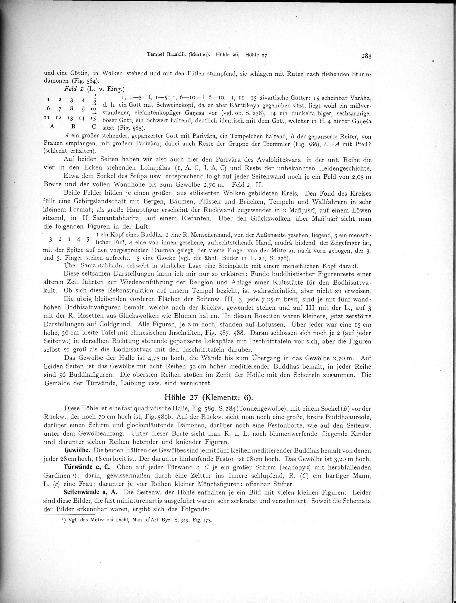 Altbuddhistische Kultstätten in Chinesisch-Turkistan : vol.1 / Page 289 (Grayscale High Resolution Image)