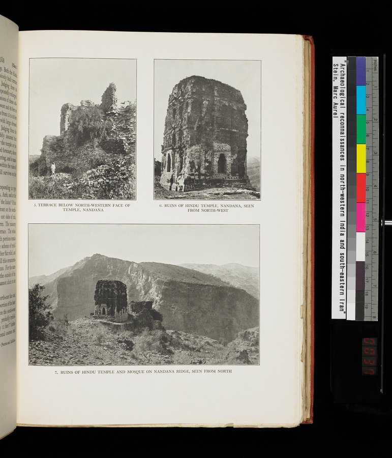 Archaeological Reconnaissances in North-Western India and South-Eastern Īrān : vol.1 / Page 73 (Color Image)