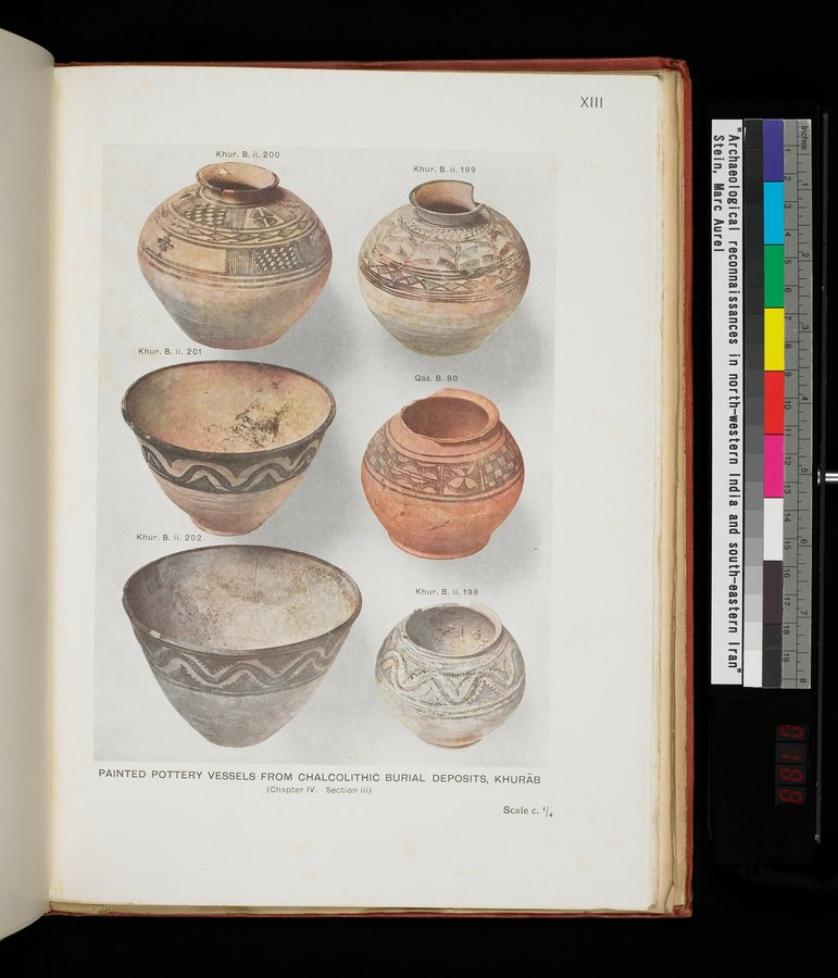 Archaeological Reconnaissances in North-Western India and South-Eastern Īrān : vol.1 / 377 ページ(カラー画像)