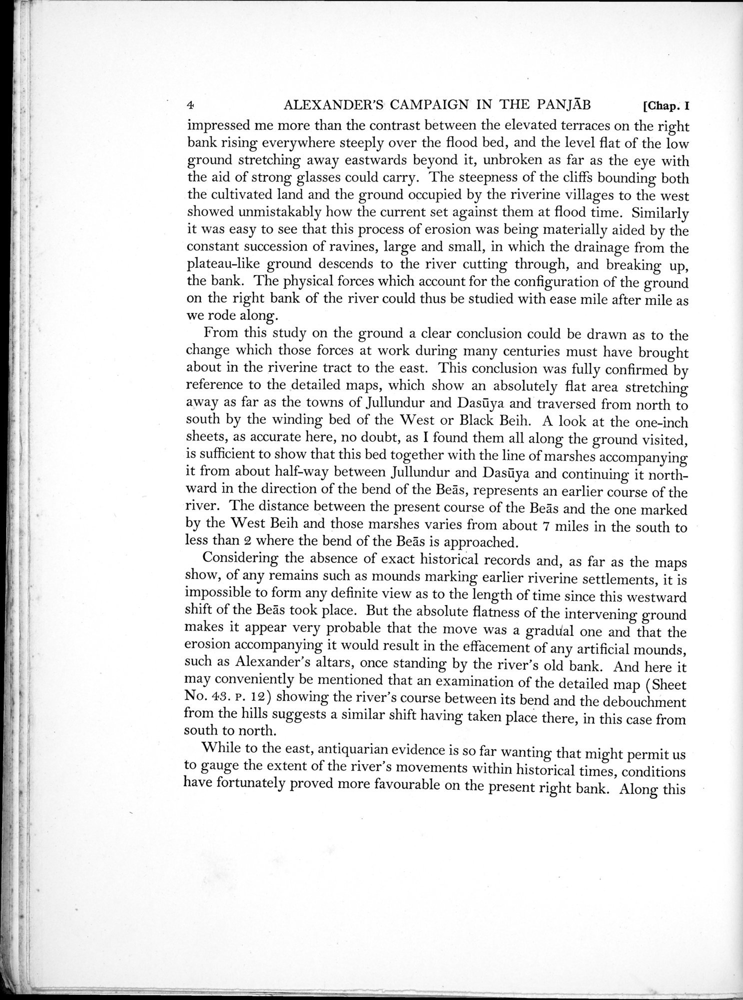Archaeological Reconnaissances in North-Western India and South-Eastern Īrān : vol.1 / Page 28 (Grayscale High Resolution Image)