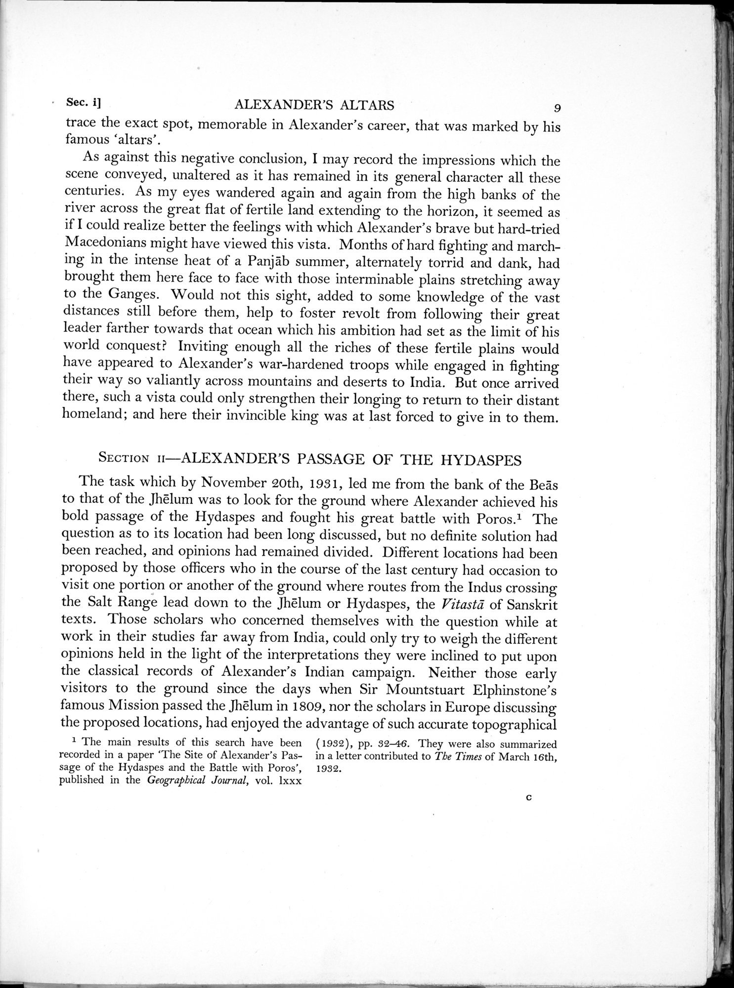 Archaeological Reconnaissances in North-Western India and South-Eastern Īrān : vol.1 / Page 33 (Grayscale High Resolution Image)