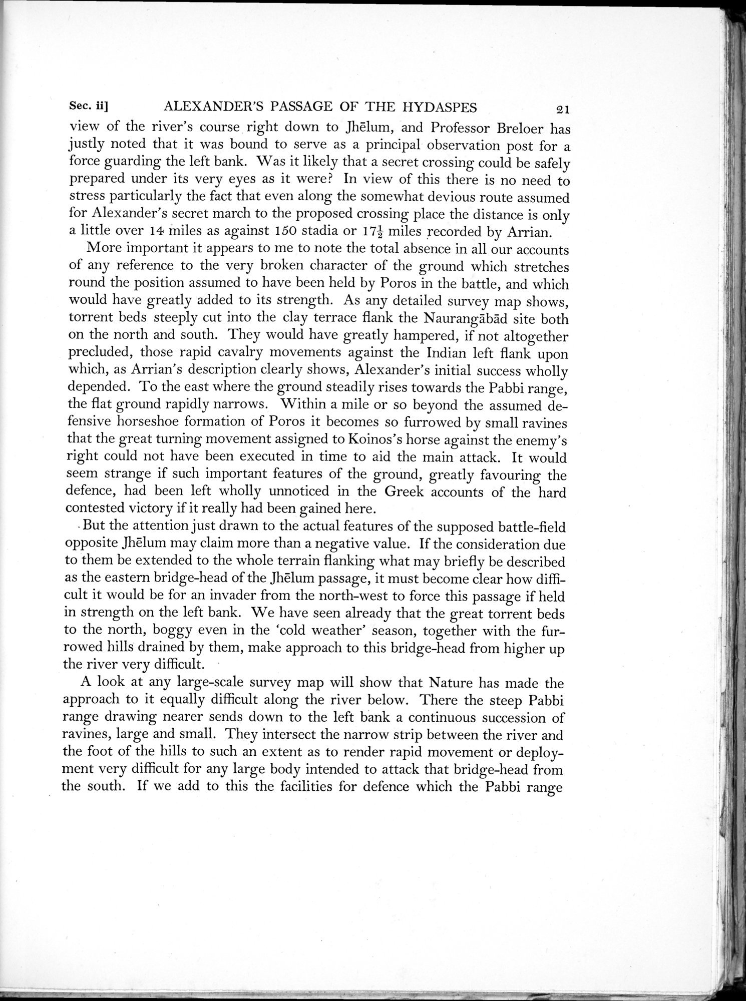 Archaeological Reconnaissances in North-Western India and South-Eastern Īrān : vol.1 / Page 47 (Grayscale High Resolution Image)