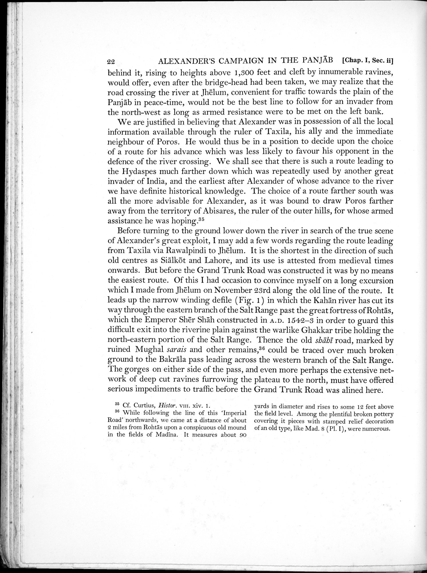 Archaeological Reconnaissances in North-Western India and South-Eastern Īrān : vol.1 / Page 48 (Grayscale High Resolution Image)