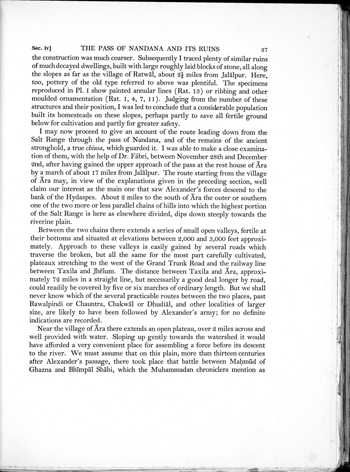 Archaeological Reconnaissances in North-Western India and South-Eastern Īrān : vol.1 / Page 67 (Grayscale High Resolution Image)