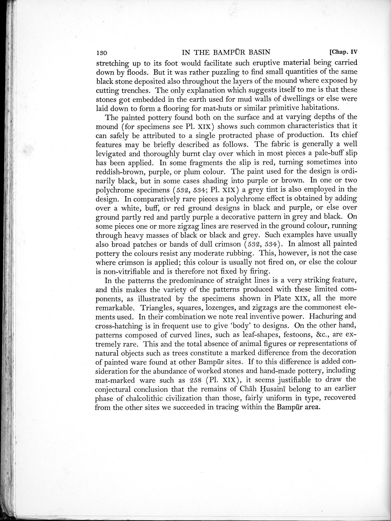 Archaeological Reconnaissances in North-Western India and South-Eastern Īrān : vol.1 / Page 184 (Grayscale High Resolution Image)