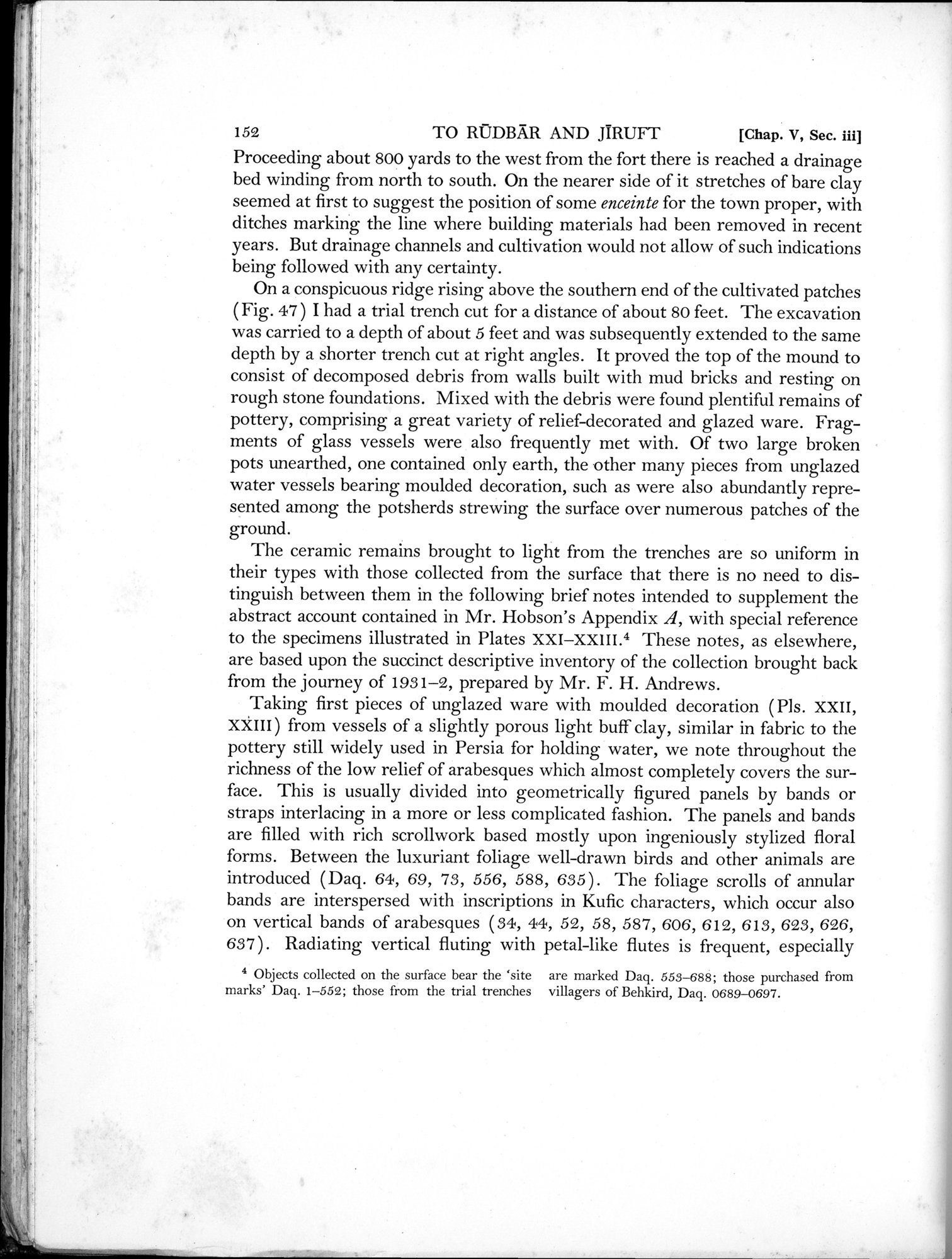 Archaeological Reconnaissances in North-Western India and South-Eastern Īrān : vol.1 / Page 212 (Grayscale High Resolution Image)