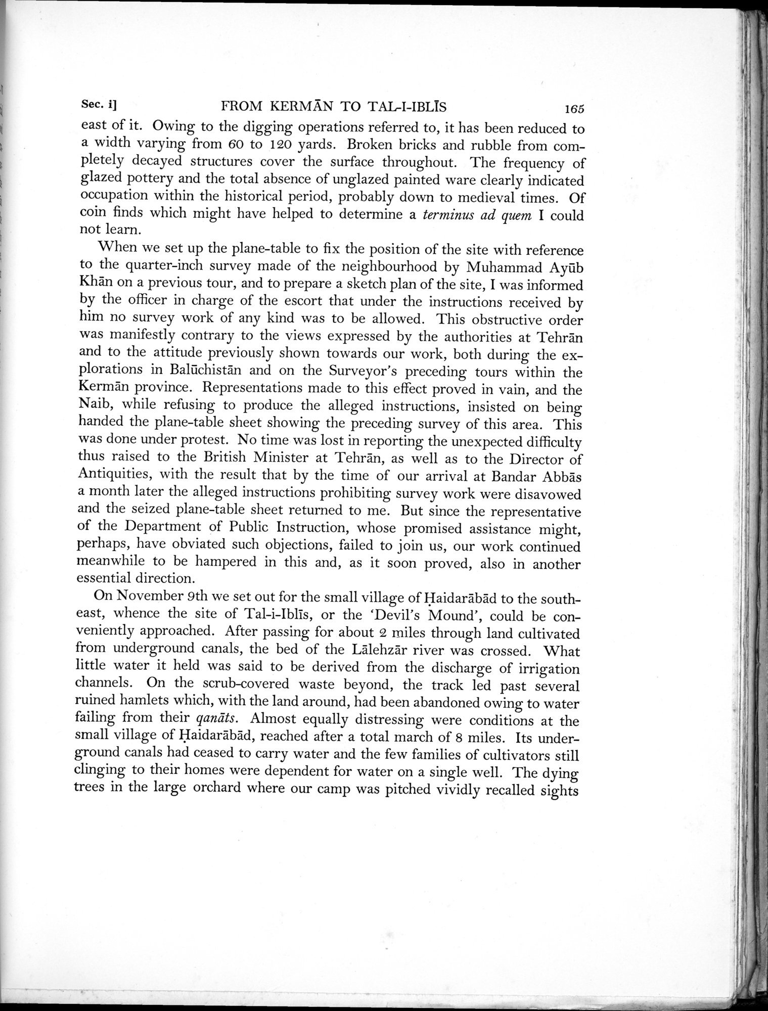 Archaeological Reconnaissances in North-Western India and South-Eastern Īrān : vol.1 / Page 227 (Grayscale High Resolution Image)